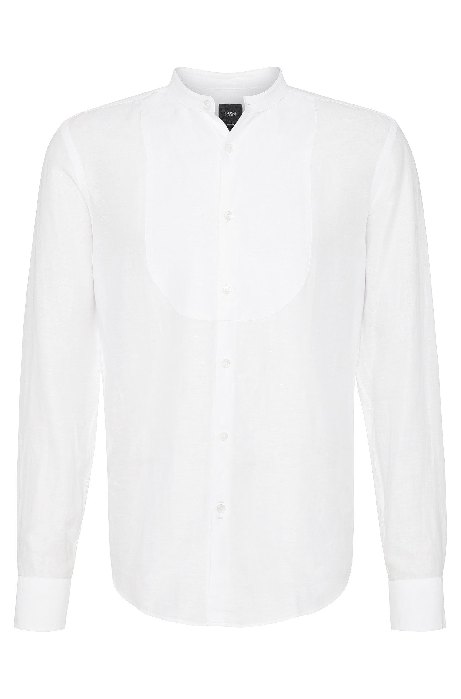 'T-Ram' | Slim Fit, Linen Cotton Button Down Shirt