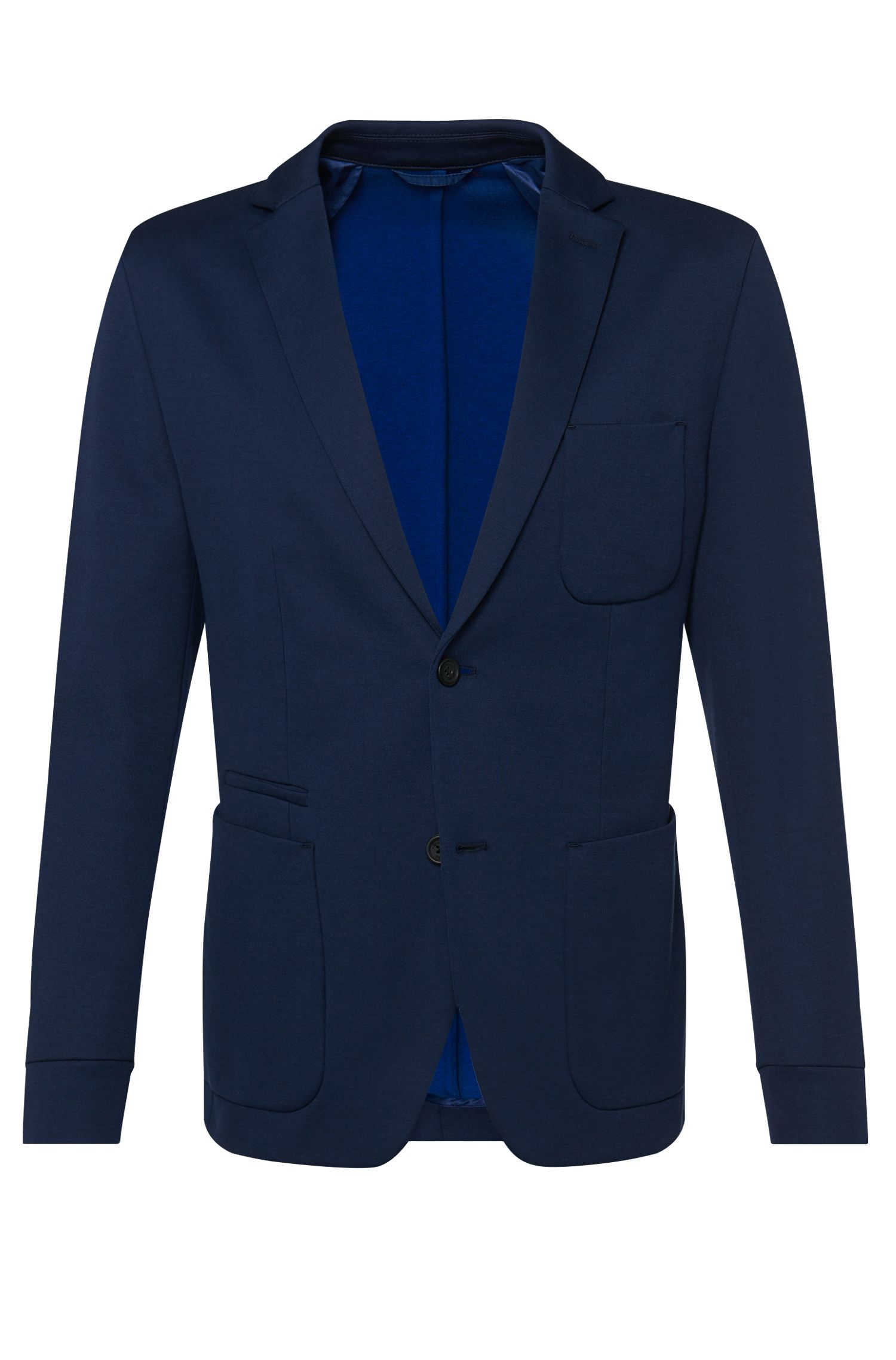 'Mourize' | Extra Slim Fit, Italian Cotton Jersey Sport Coat