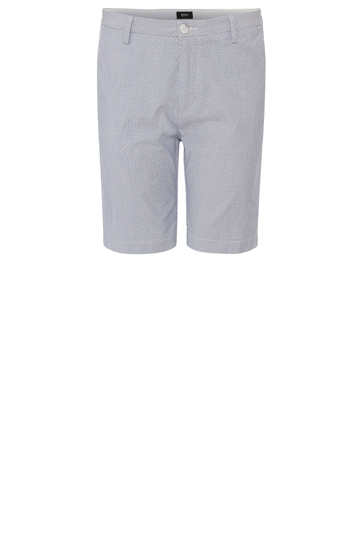 'RiceShort-W' | Slim Fit, Stretch Cotton Shorts