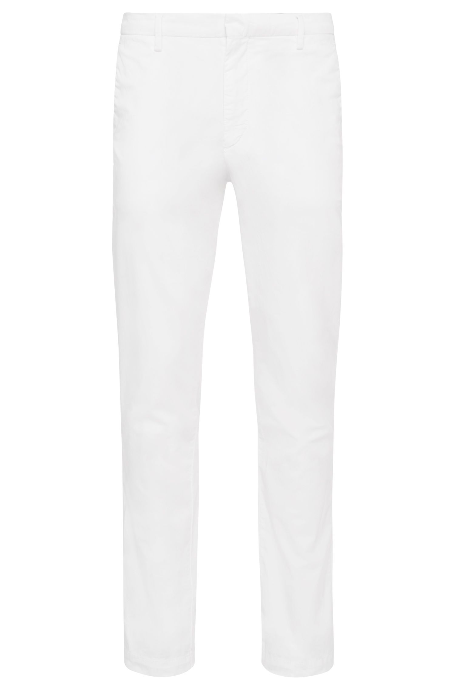 'Kaito-D' | Slim Fit, Stretch Cotton Chinos