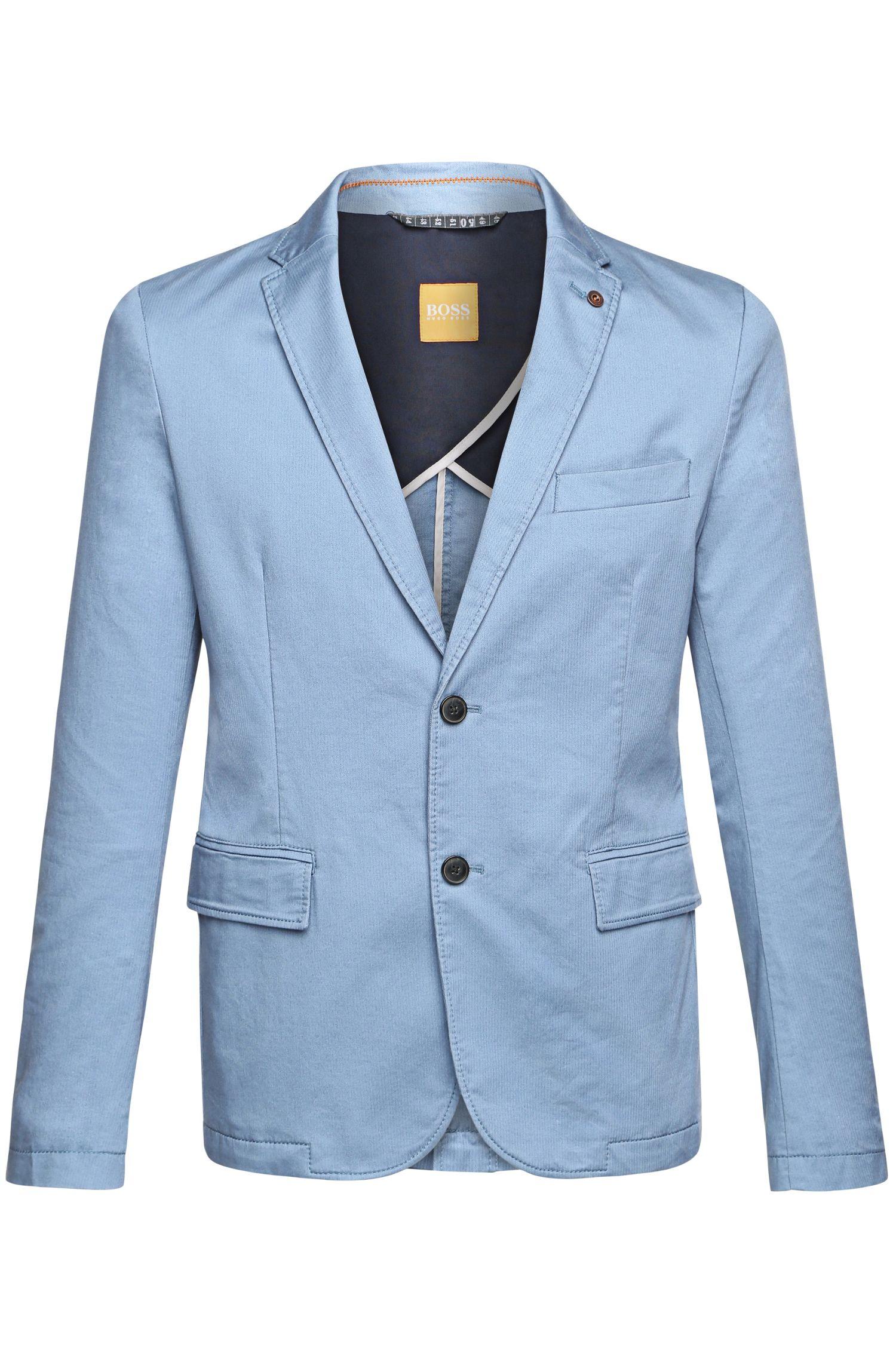'Benestretch-W' | Slim Fit, Stretch Cotton Sport Coat