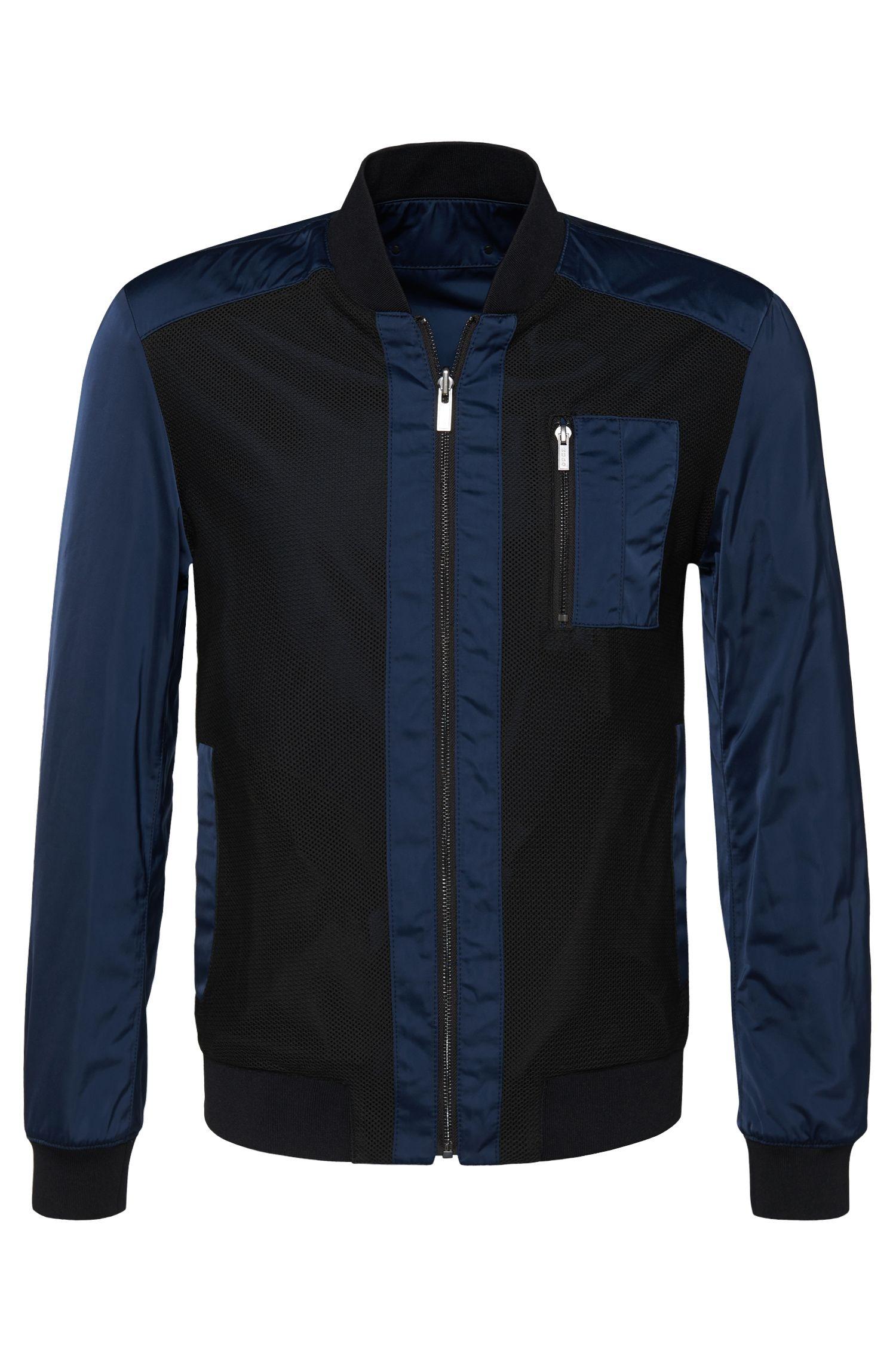 'Baxent' | Reversible Water-Repellent Varsity Jacket
