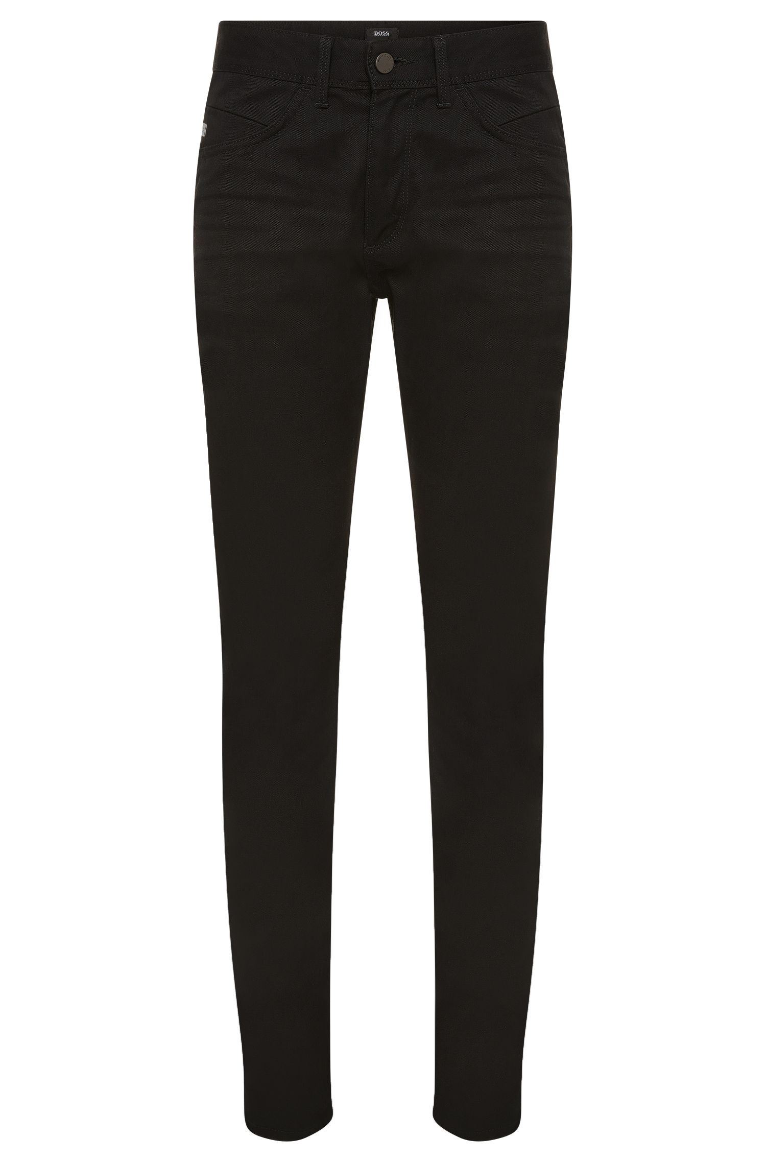 'Delaware-MB' | Slim Fit, 10 oz Stretch Cotton Jeans