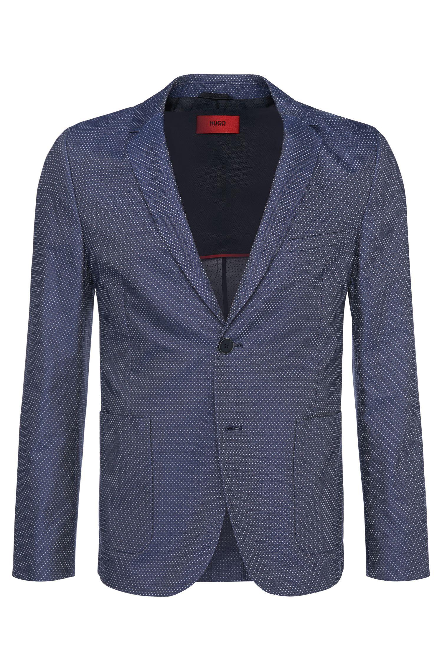 'Andtos'   Comfort Fit, Cotton Dot Sport Coat