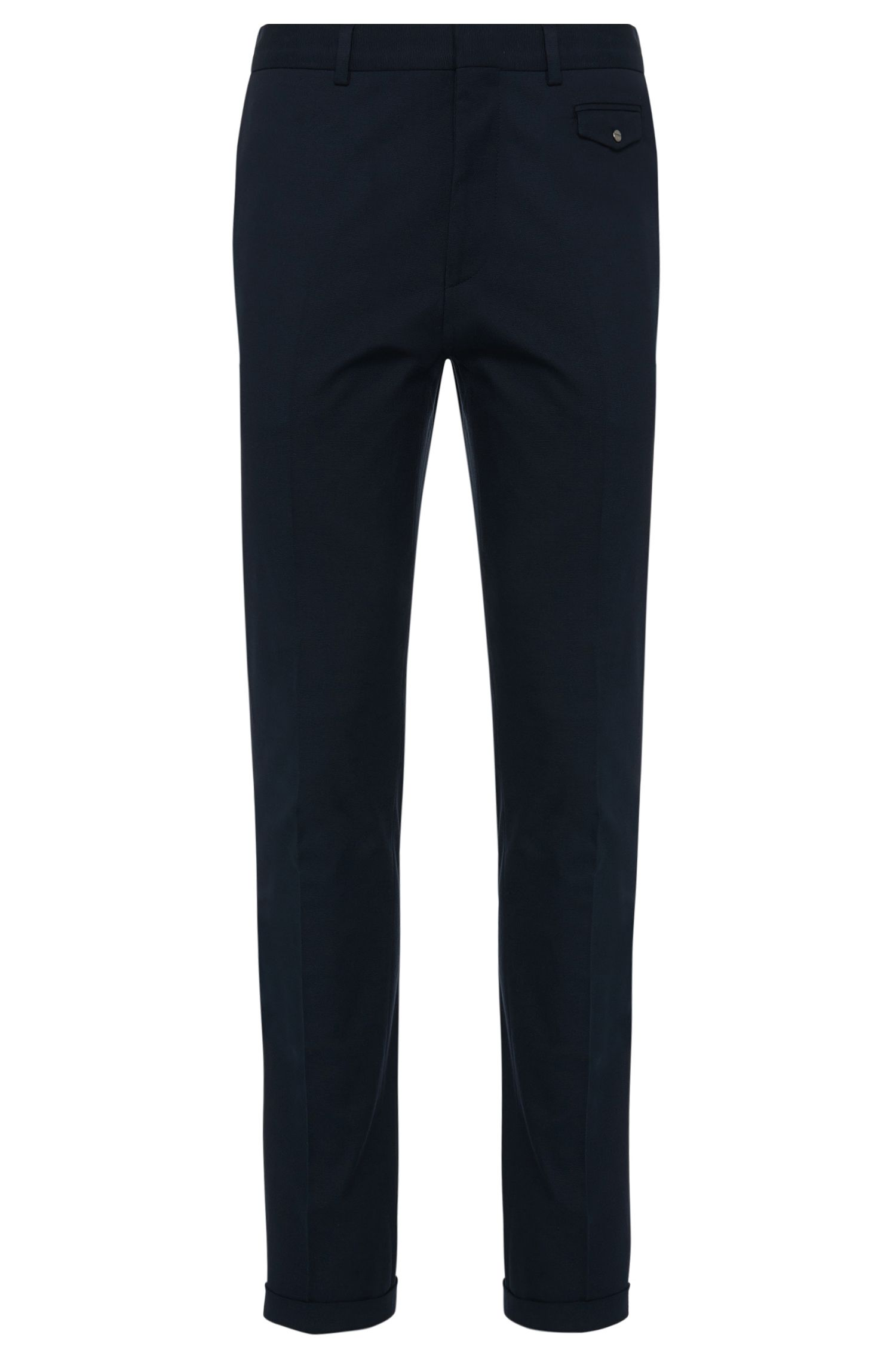 'Harenz' | Extra Slim Fit, Stretch Cotton Pants