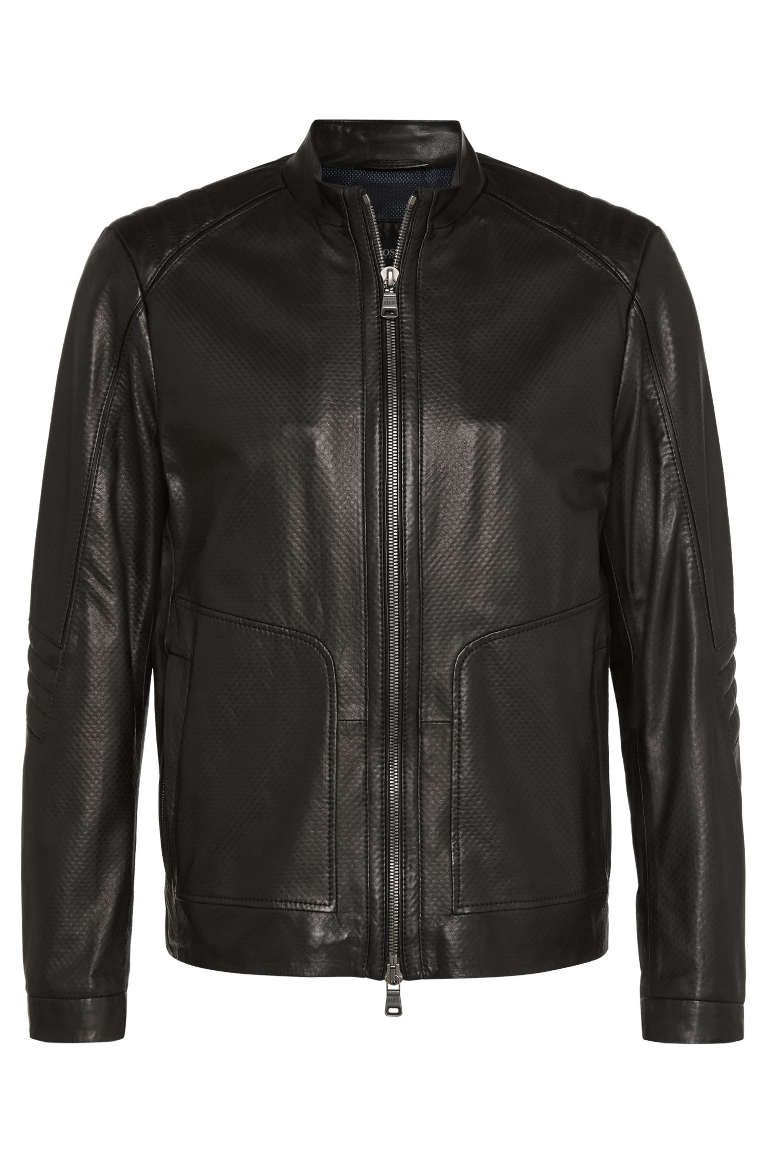 'Nartino' | Lambskin Racing Jacket