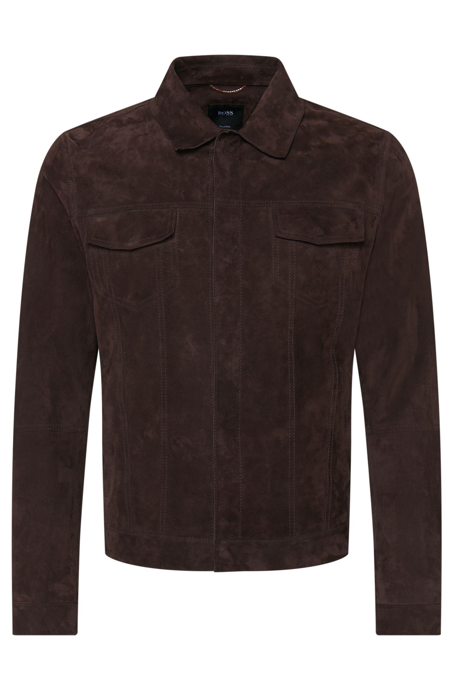 'T-Carpin' | Italian Suede Lambskin Jacket