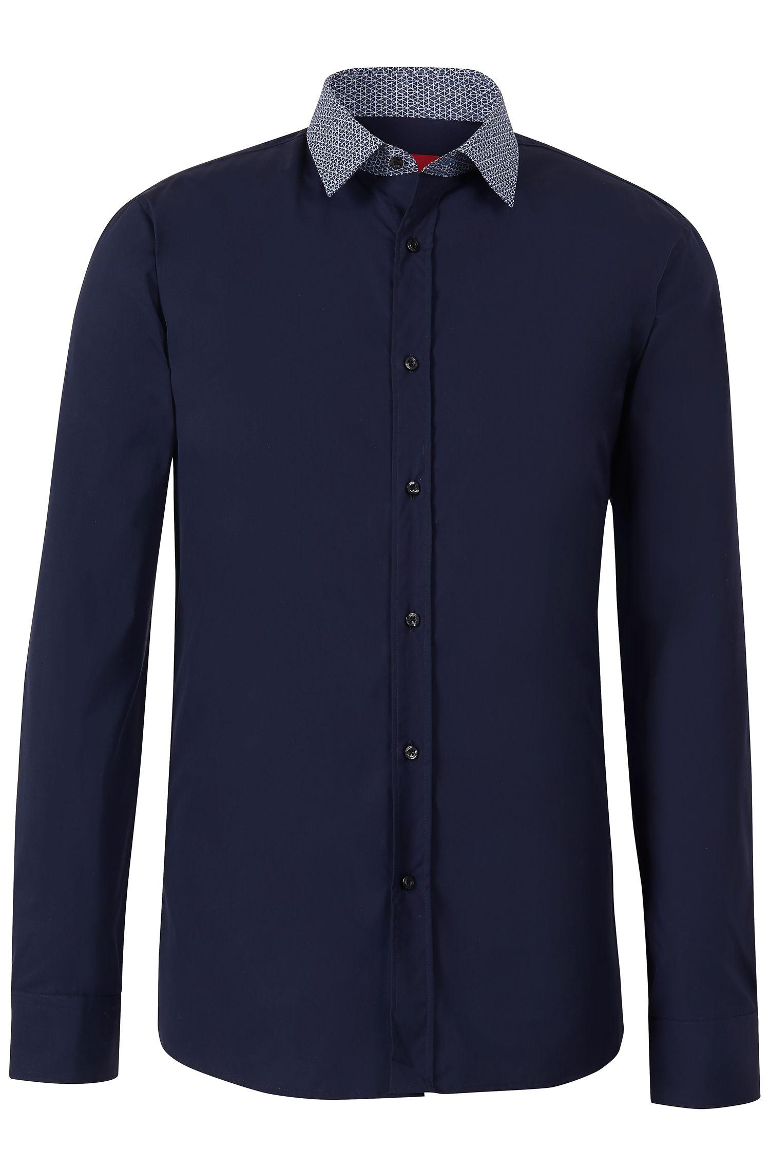 'Elisha' | Slim Fit, Cotton Button Down Shirt