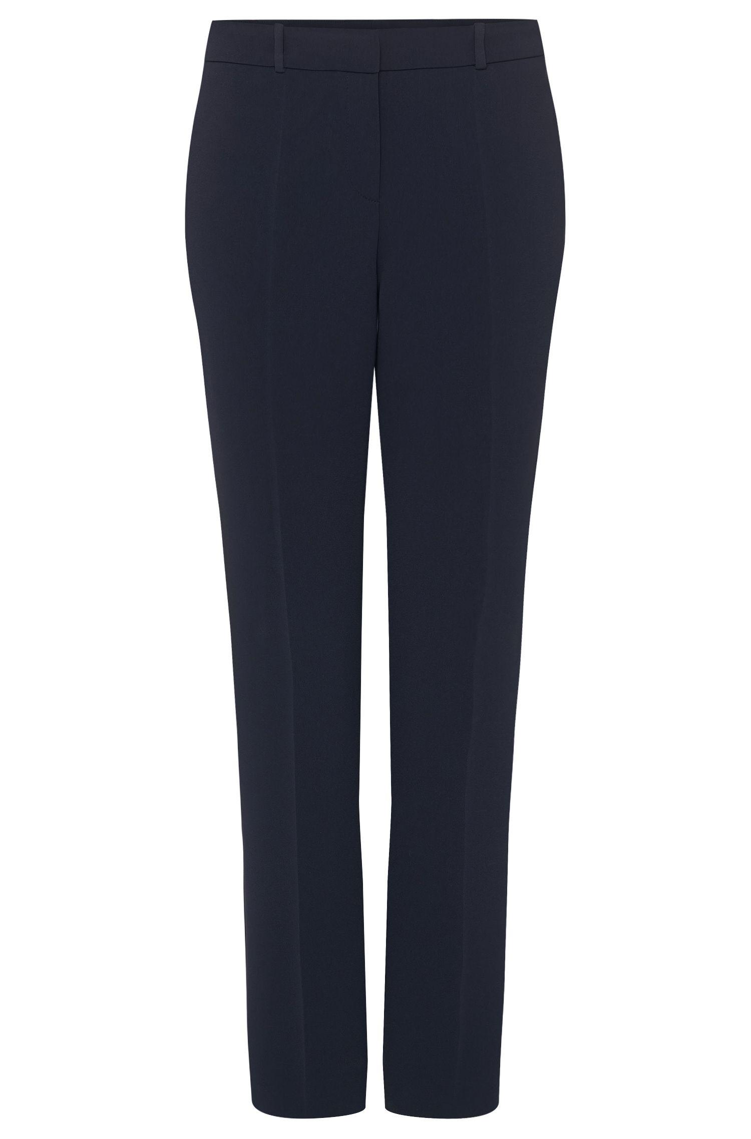 'Tiluna' | Crepe Slim-Leg Dress Pants