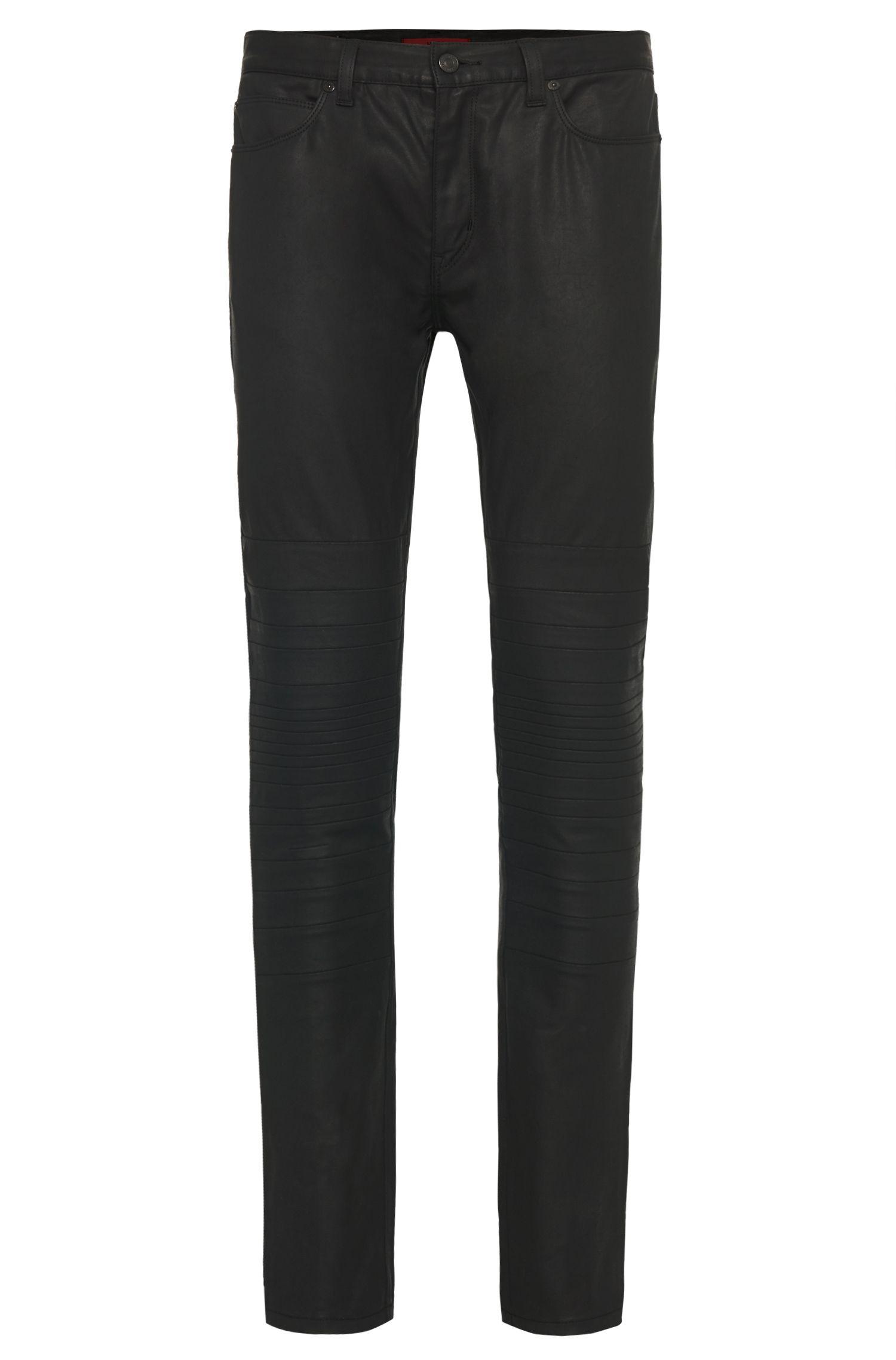 'HUGO 734/30' | Skinny Fit, 12.5 oz Stretch Cotton Coated Jeans