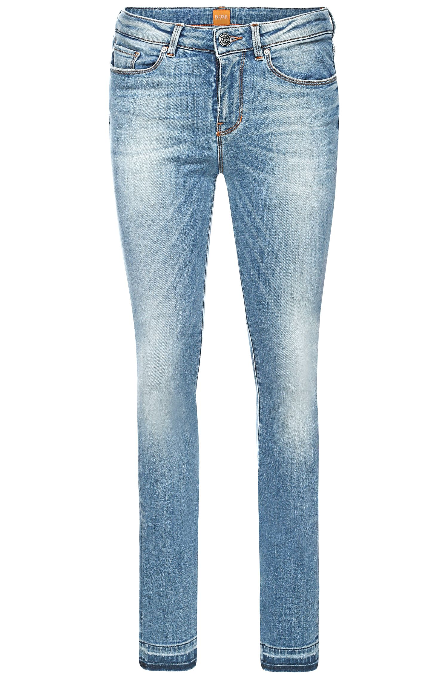 'Orange J' | Stretch Cotton Blend Skinny Jeans