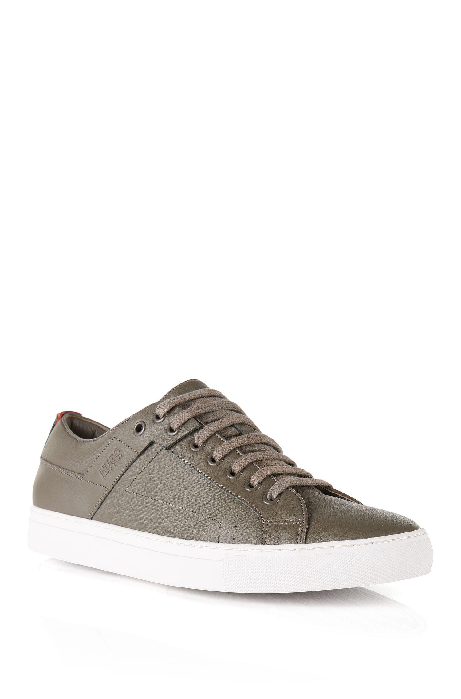 'Futesio-SF' | Calfskin Leather Sneakers