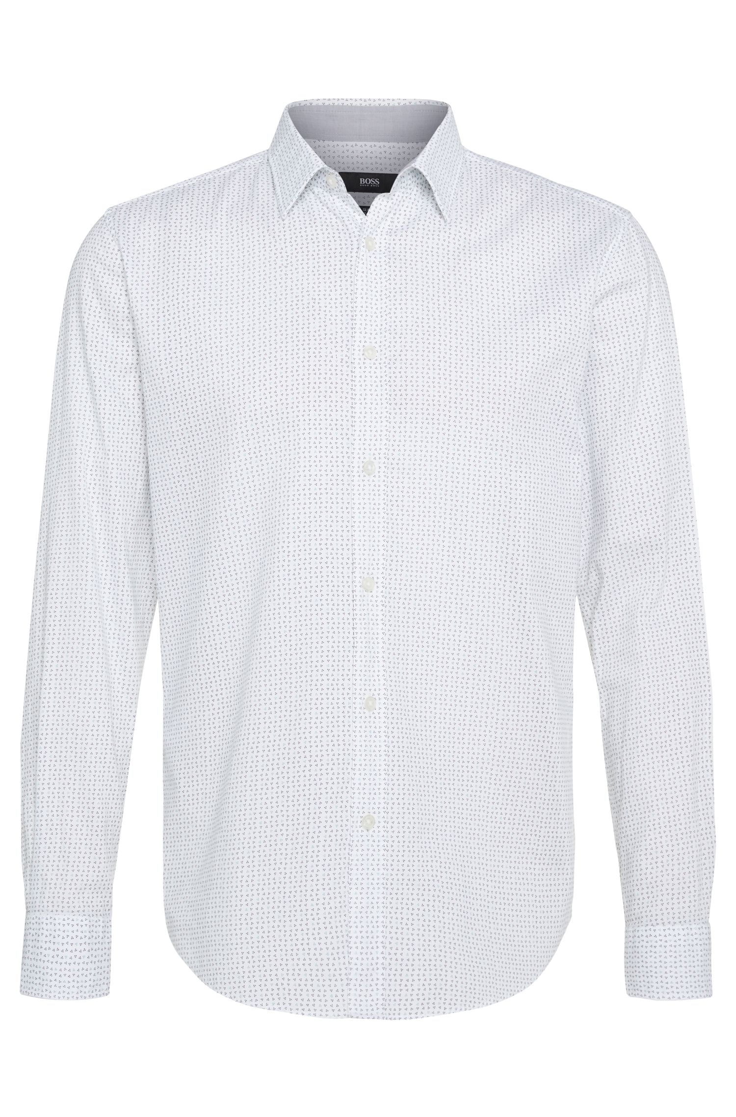 'Ronni' | Slim Fit, Italian Cotton Button Down Shirt