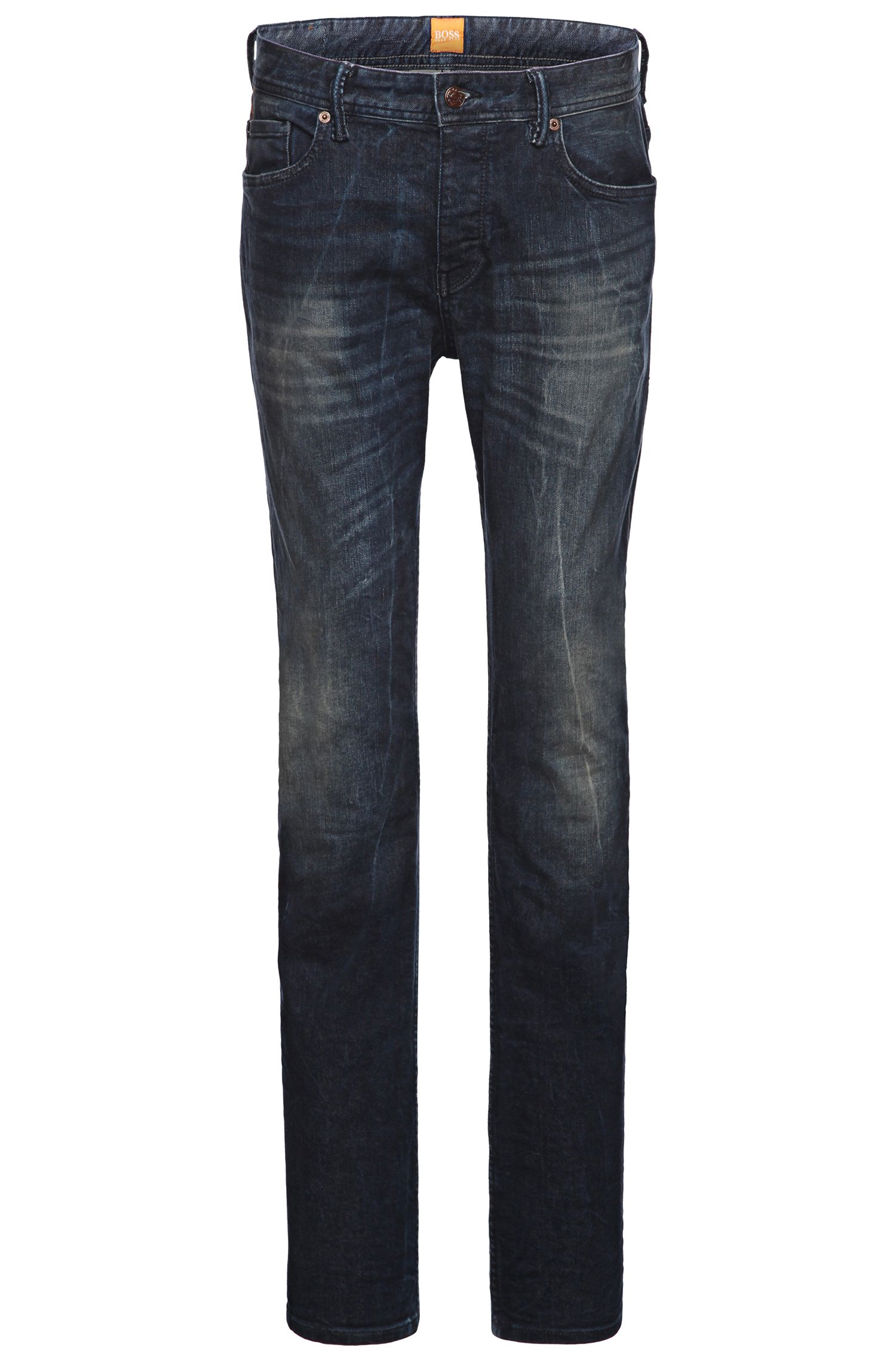 'Orange90' | Tapered Fit, 11.5 oz Stretch Cotton Blend Jeans