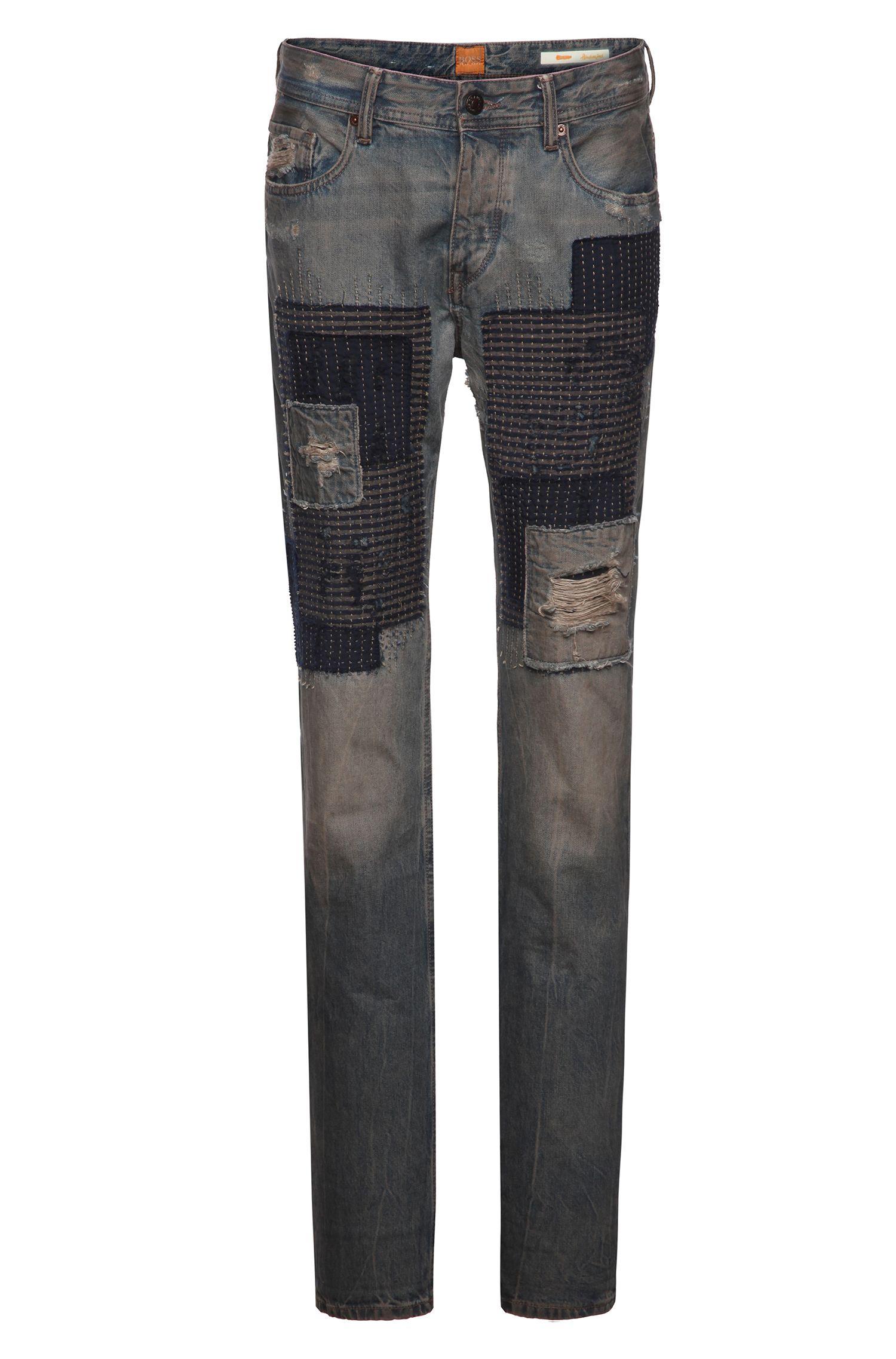 'Orange 90' | Tapered Fit, 11.5 oz Cotton Jeans