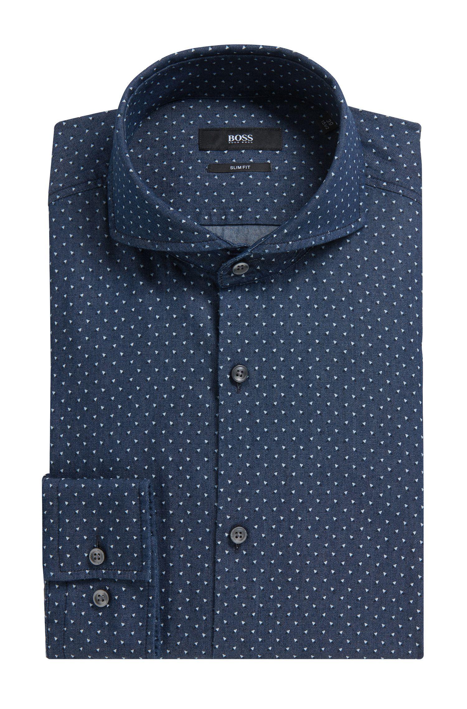 'Dwayne' | Slim fit, Cotton Dress Shirt