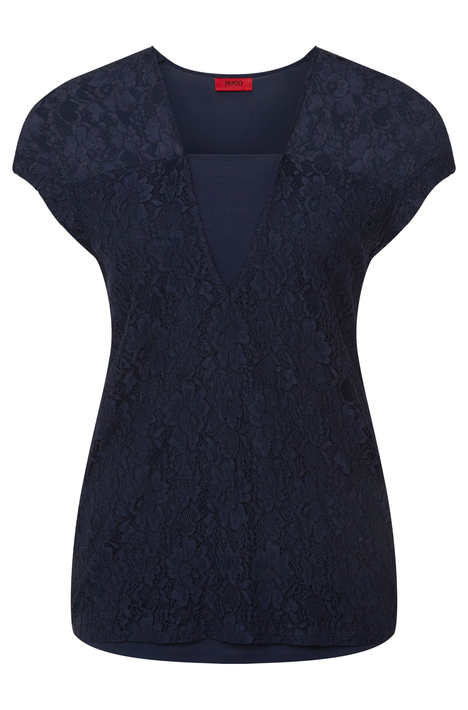 'Nelika' | Front Lace Top