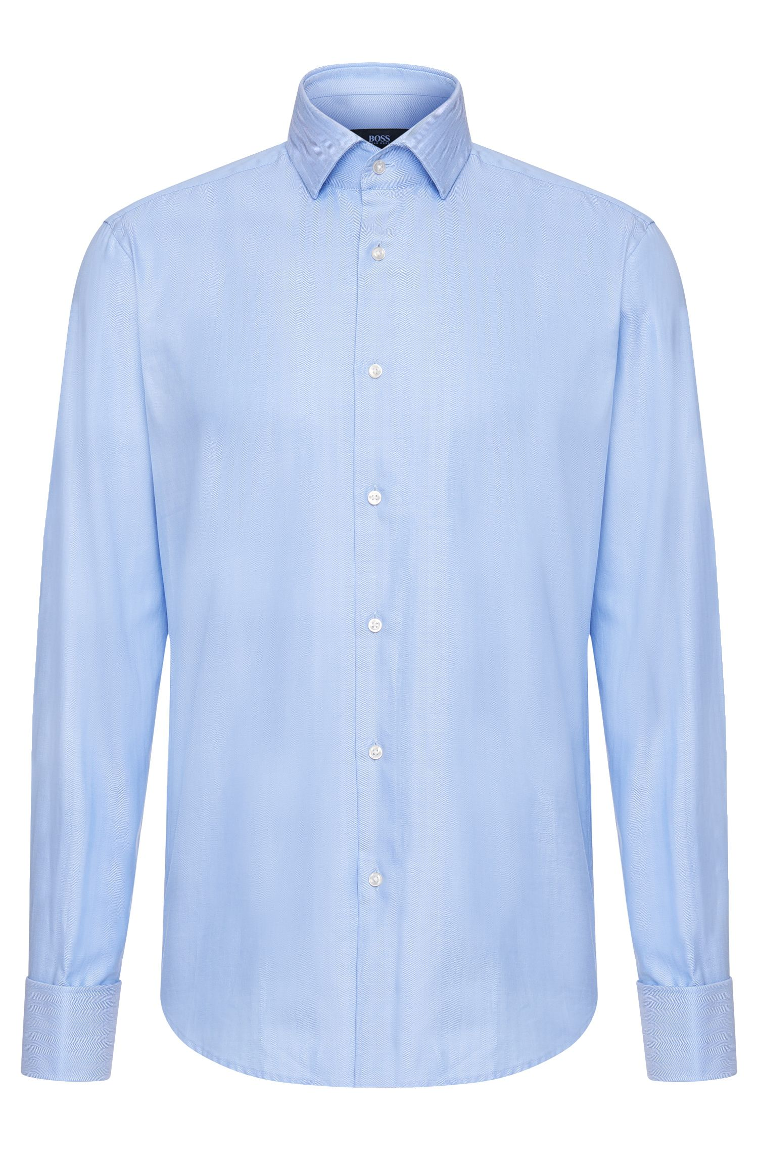 'Gardner' | Regular Fit, Italian Cotton Dress Shirt