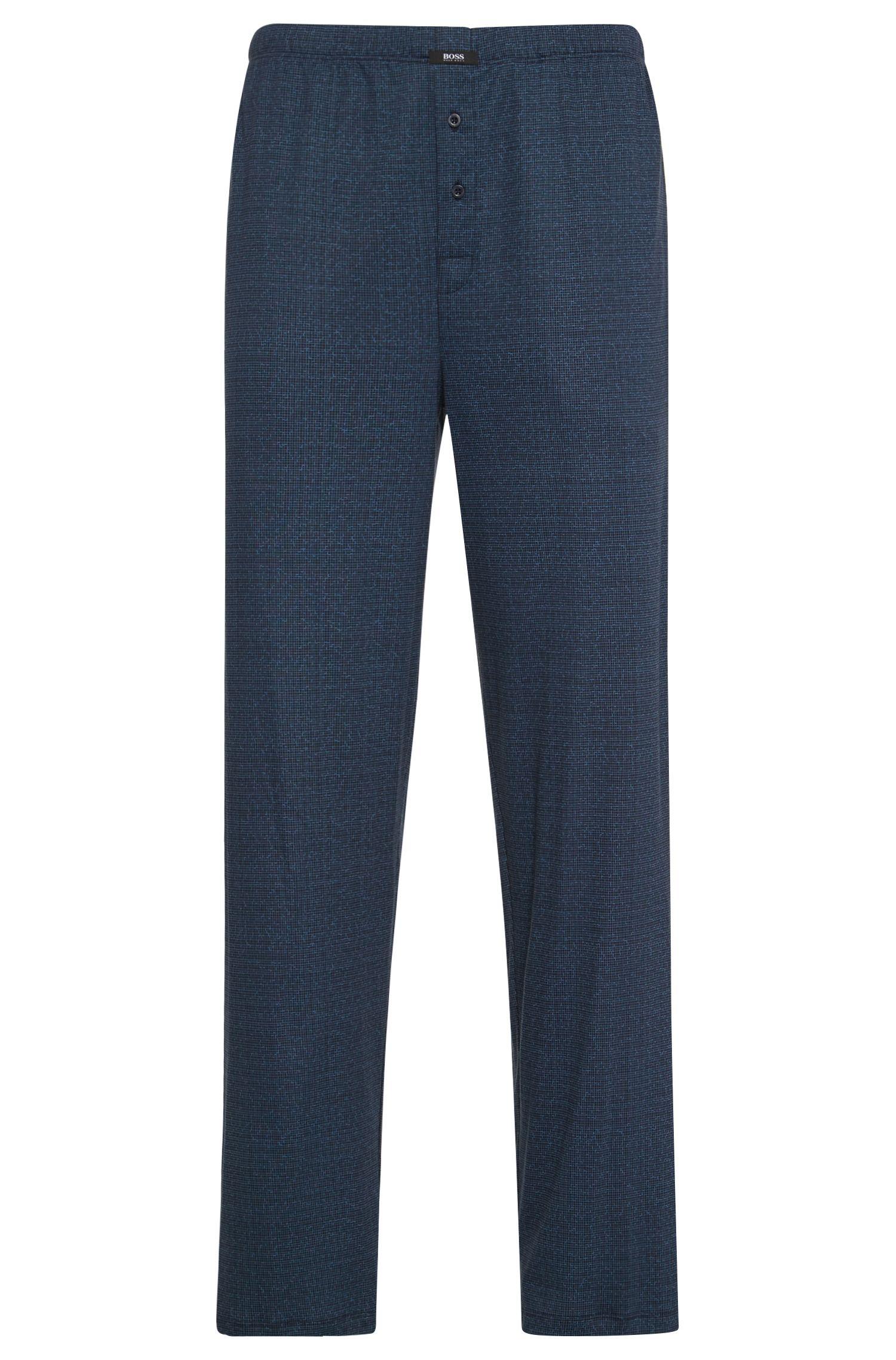 'Jersey Long Pant CW' | Cotton Modal Printed Pants