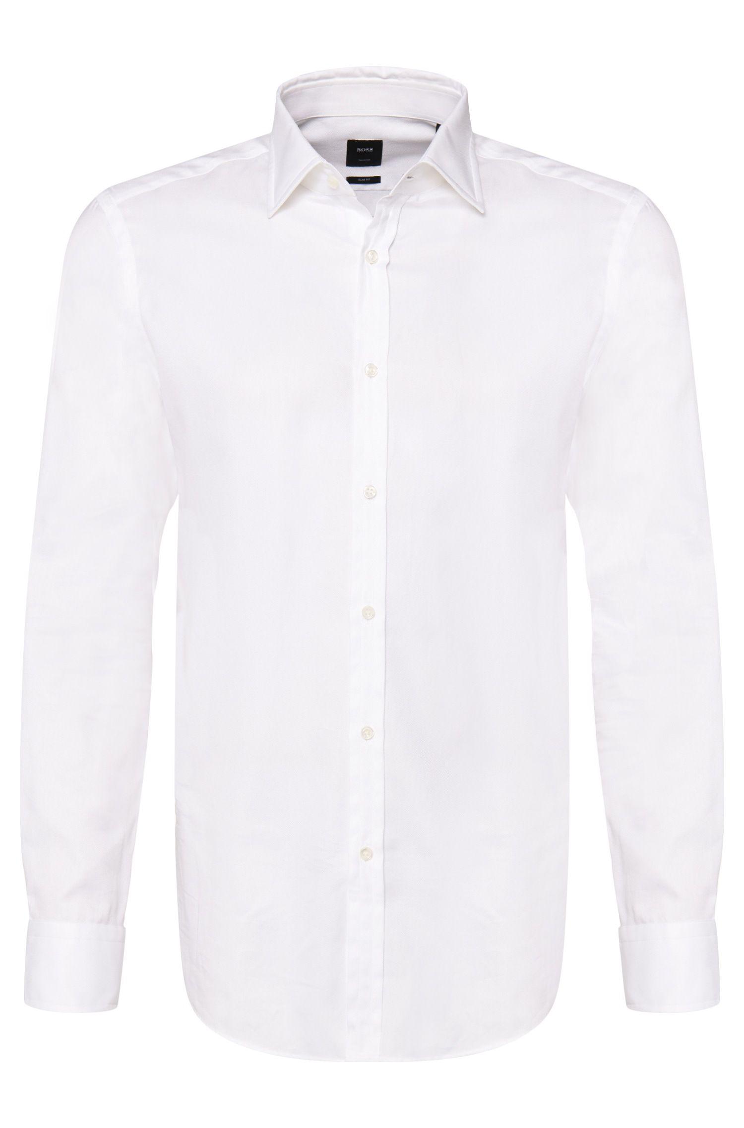 'T-Shane'   Slim Fit, Italian Cotton Dress Shirt