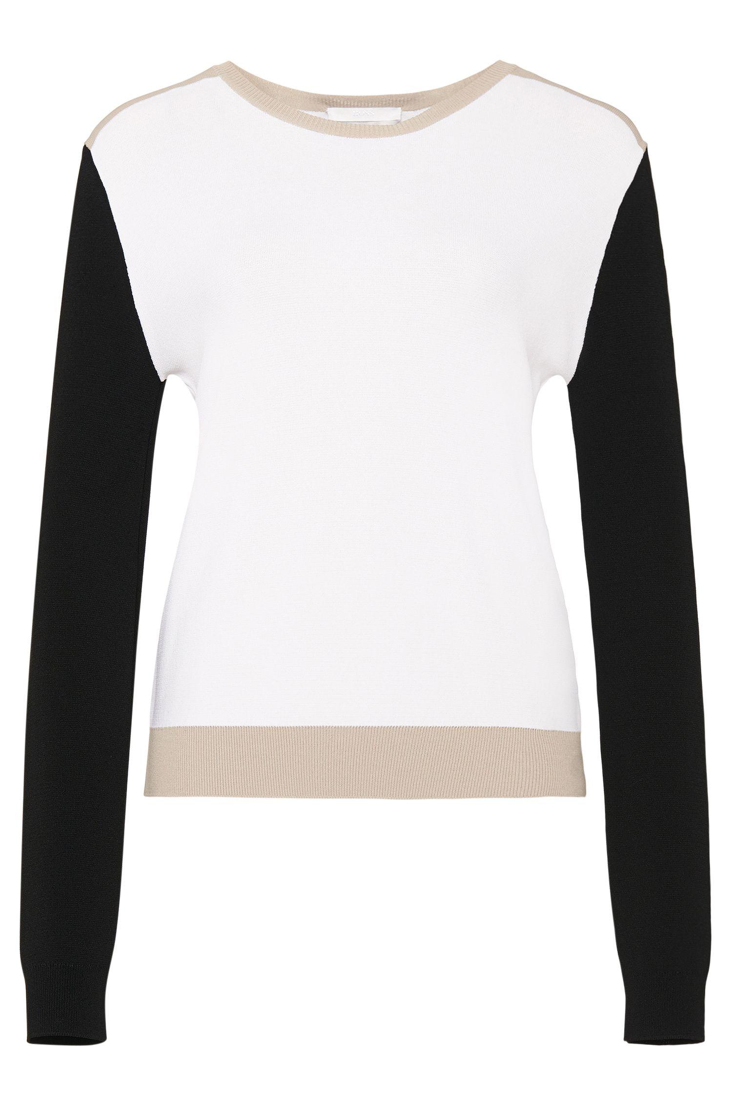 'Ferwina' | Colorblocked Sweater