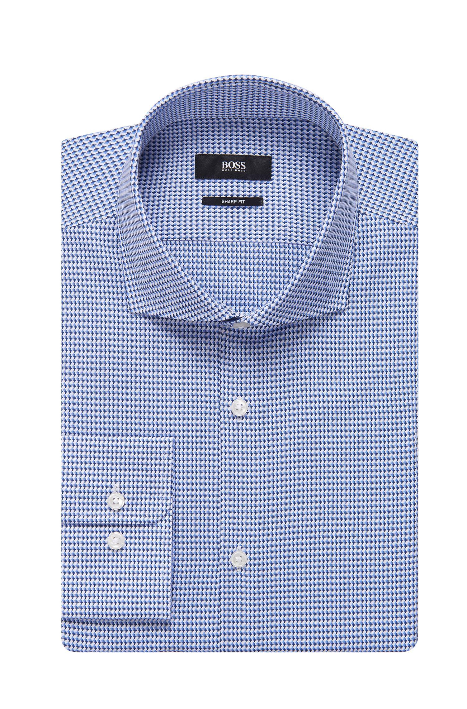 'Mark US' | Sharp Fit, Cotton Geo Print Dress Shirt