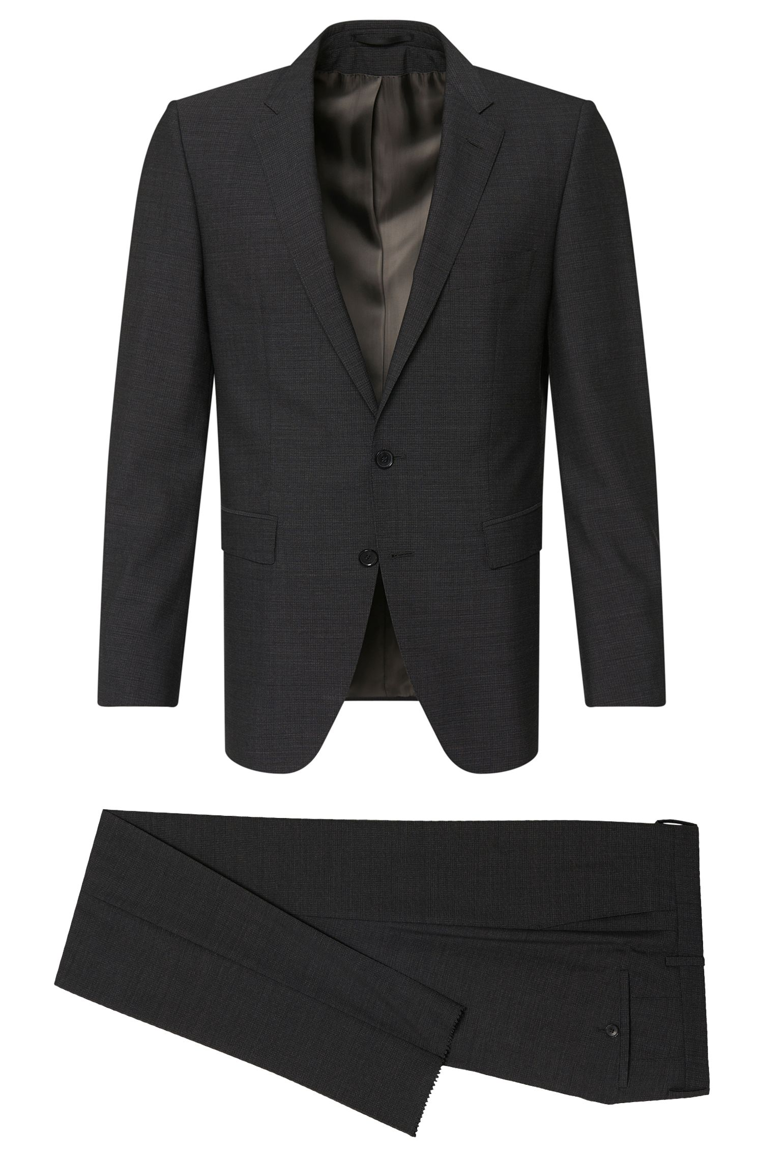 'T-Reeve/Wain' | Extra Slim Fit, Super 130 Italian Wool Suit