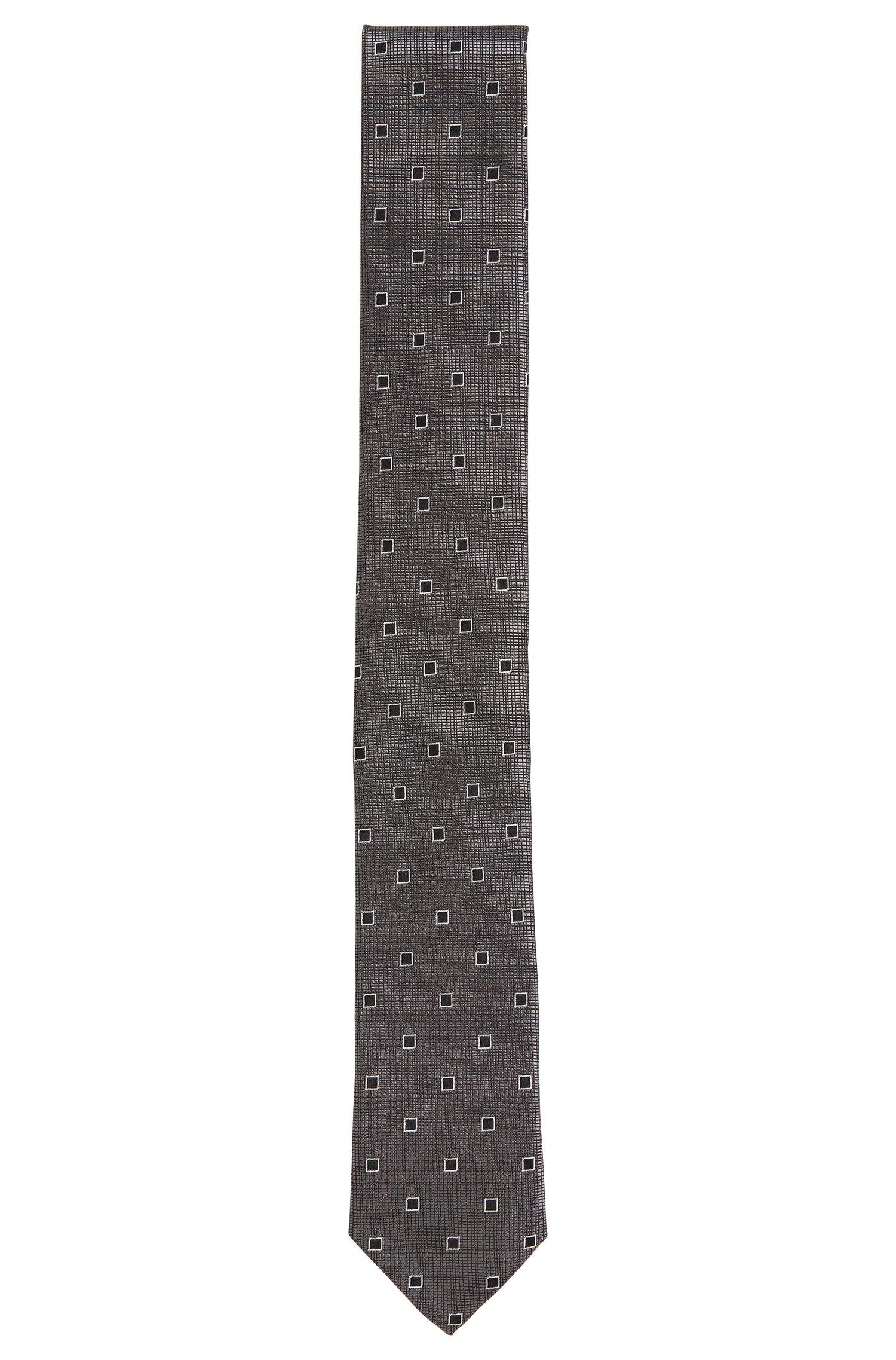 'Tie 6 cm' | Slim, Italian Silk Patterned Tie