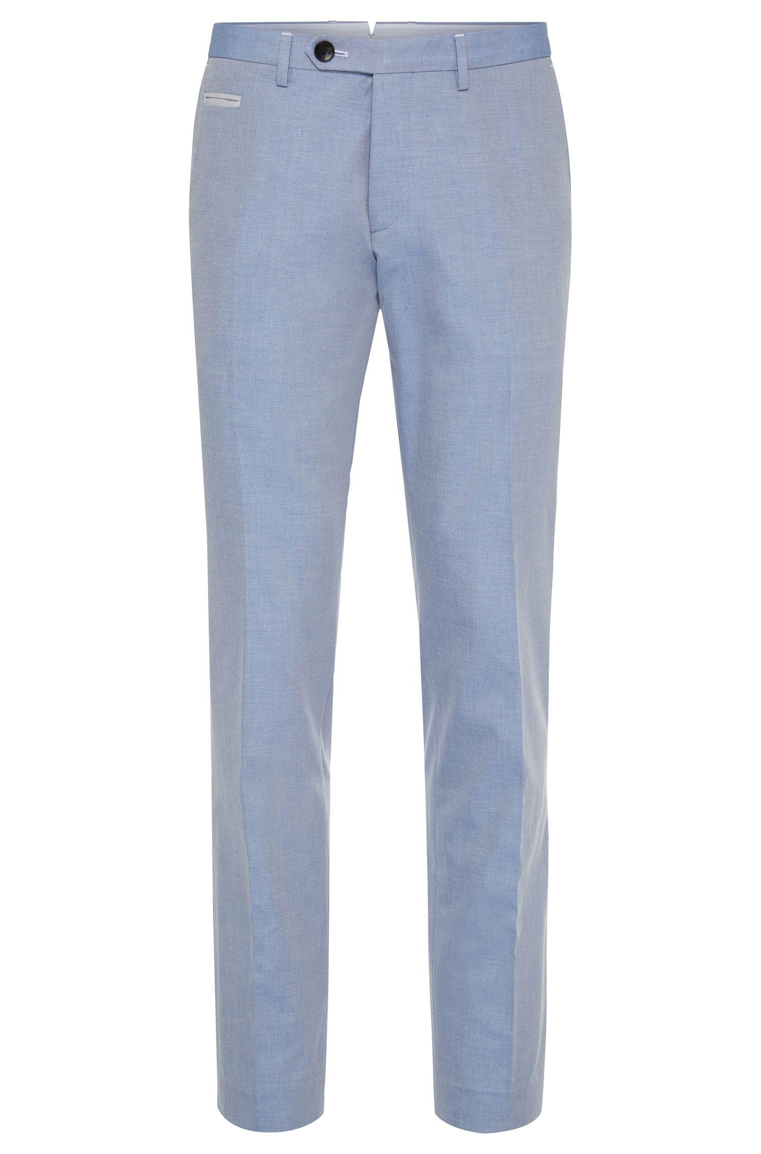 'Wilhelm' | Extra Slim Fit, Cotton Dress Pants
