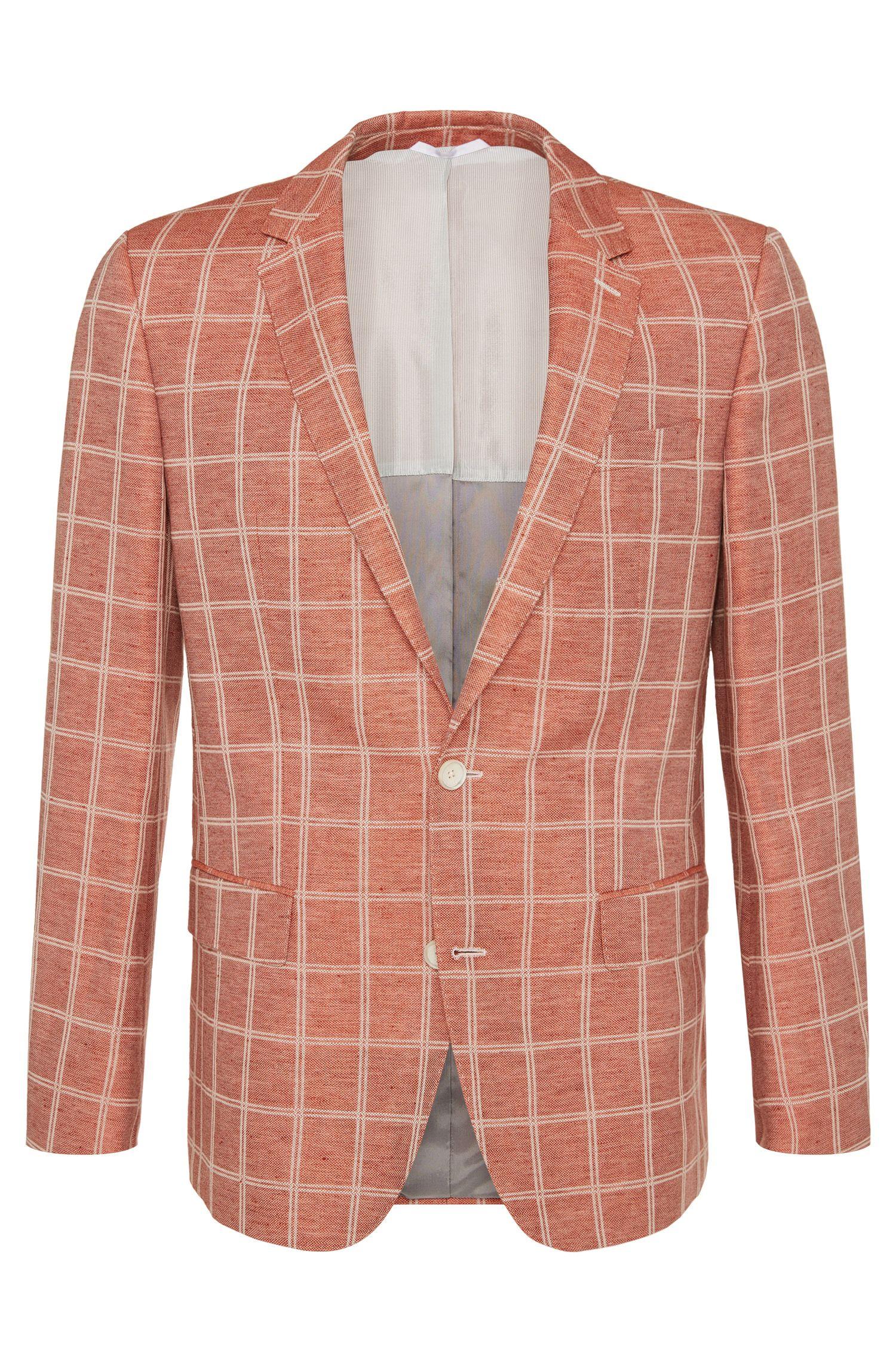 'Hutch' | Slim Fit, Linen Cotton Sport Coat