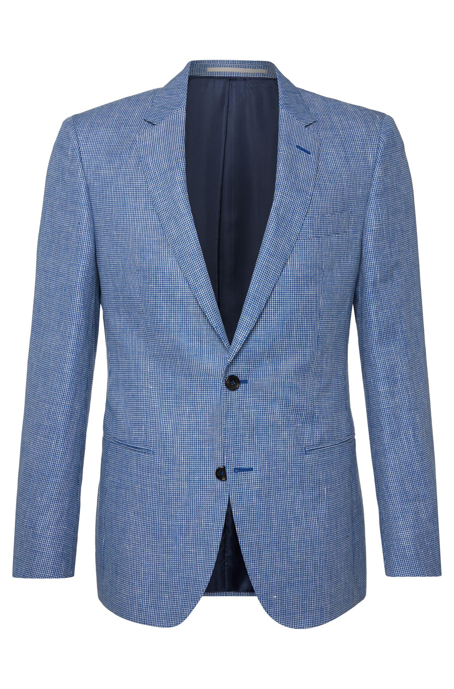 'T-Hale' | Slim Fit, Italian Linen Cotton Sport Coat