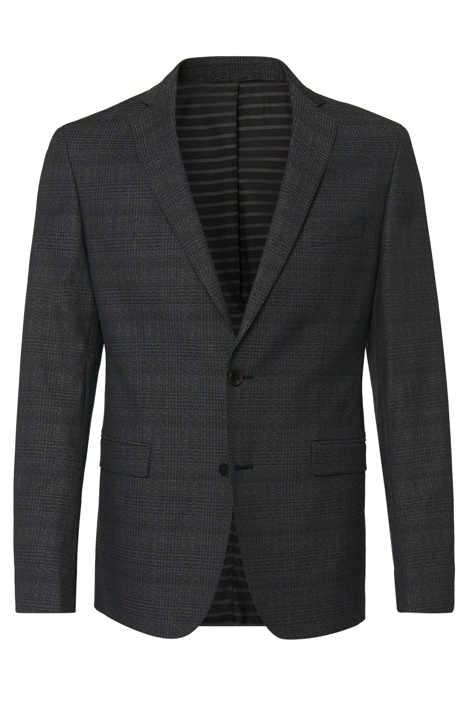 'Ross' | Extra Slim Fit, Stretch Cotton Plaid Sport Coat