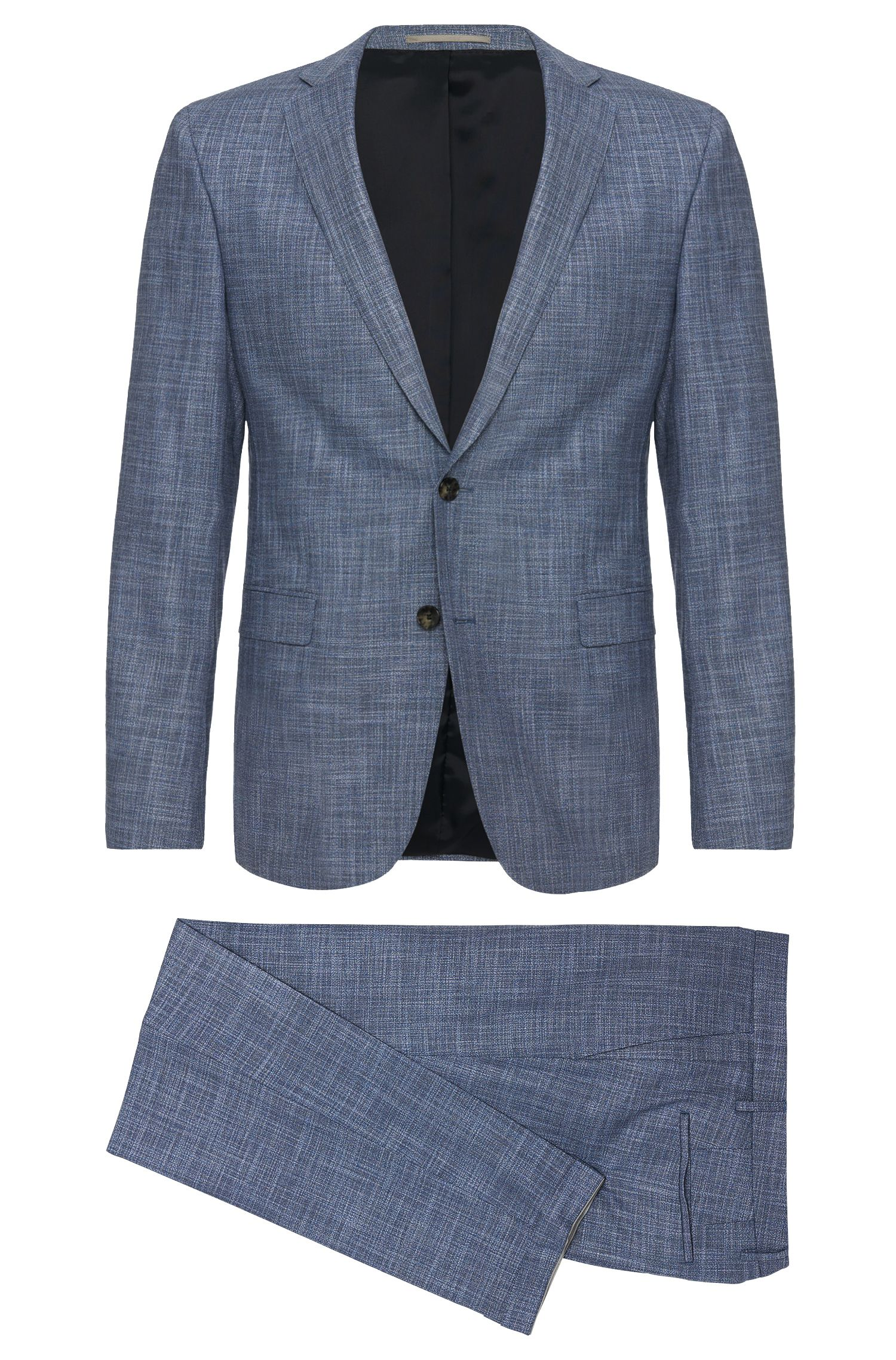 'Reyno/Wave' | Extra Slim Fit, Stretch Virgin Wool Blend Suit