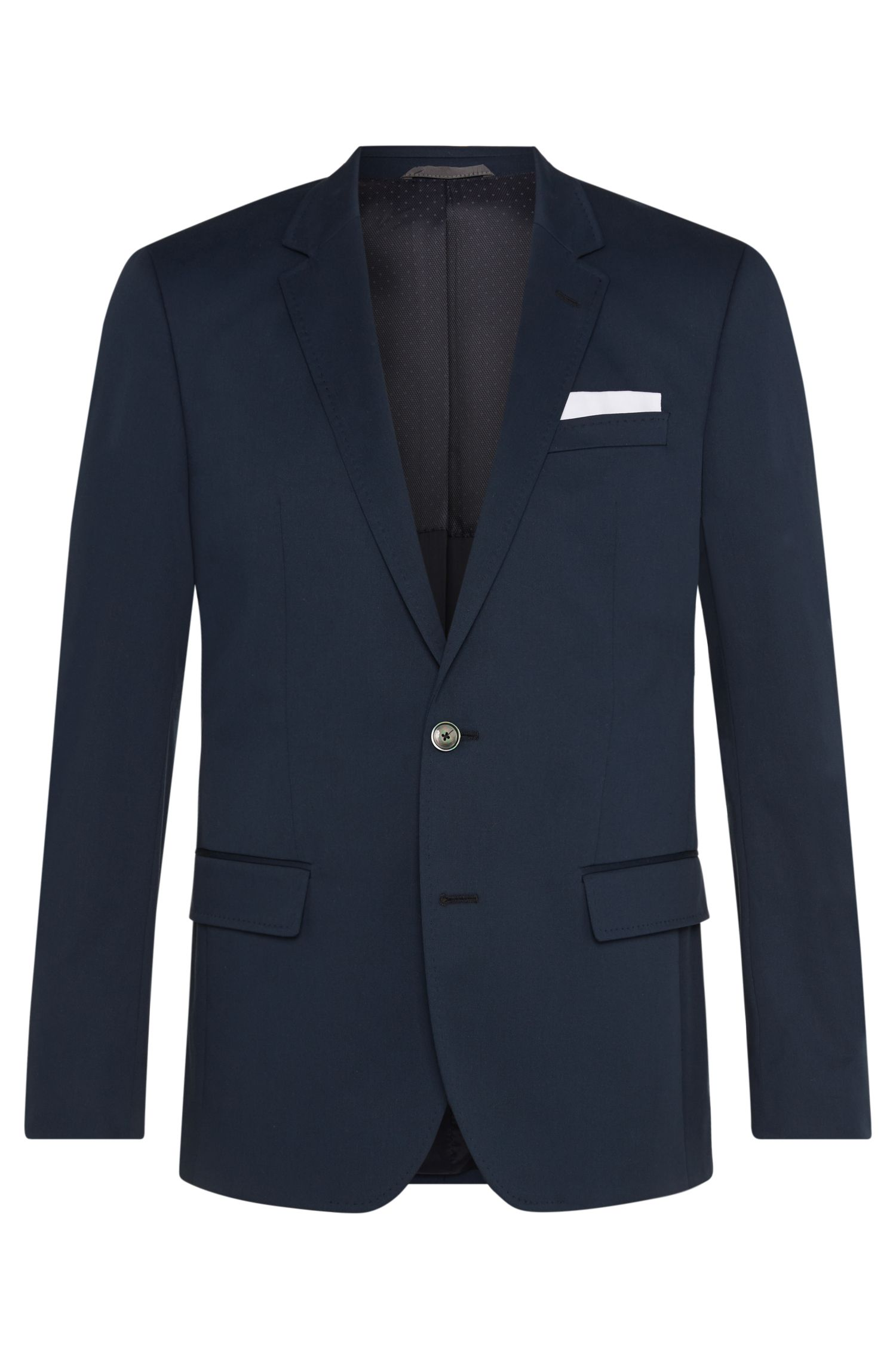 'Hutsons' | Slim Fit, Stretch Cotton Sport Coat
