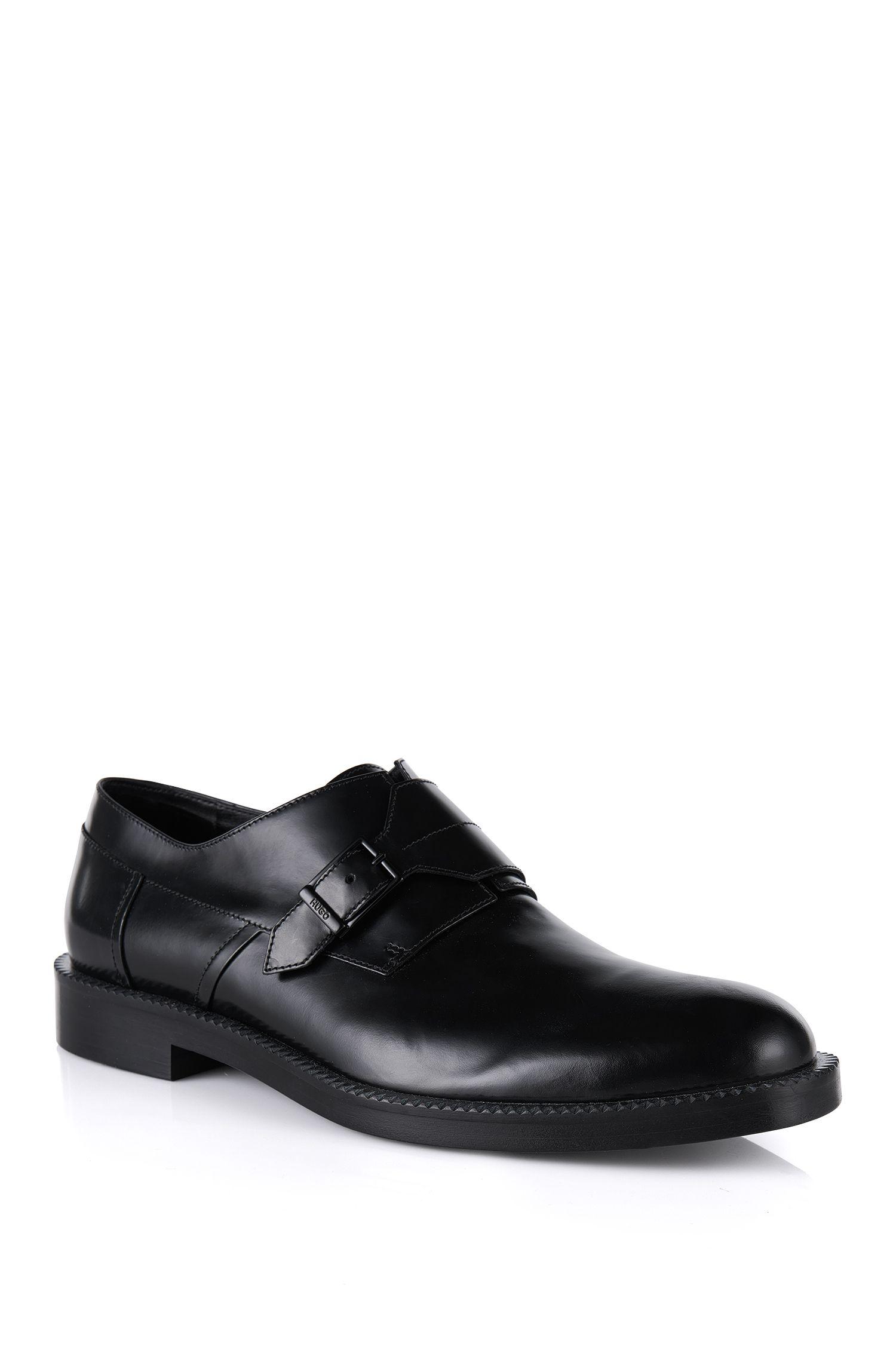 'Monomok' | Calfskin Monk Strap Shoes