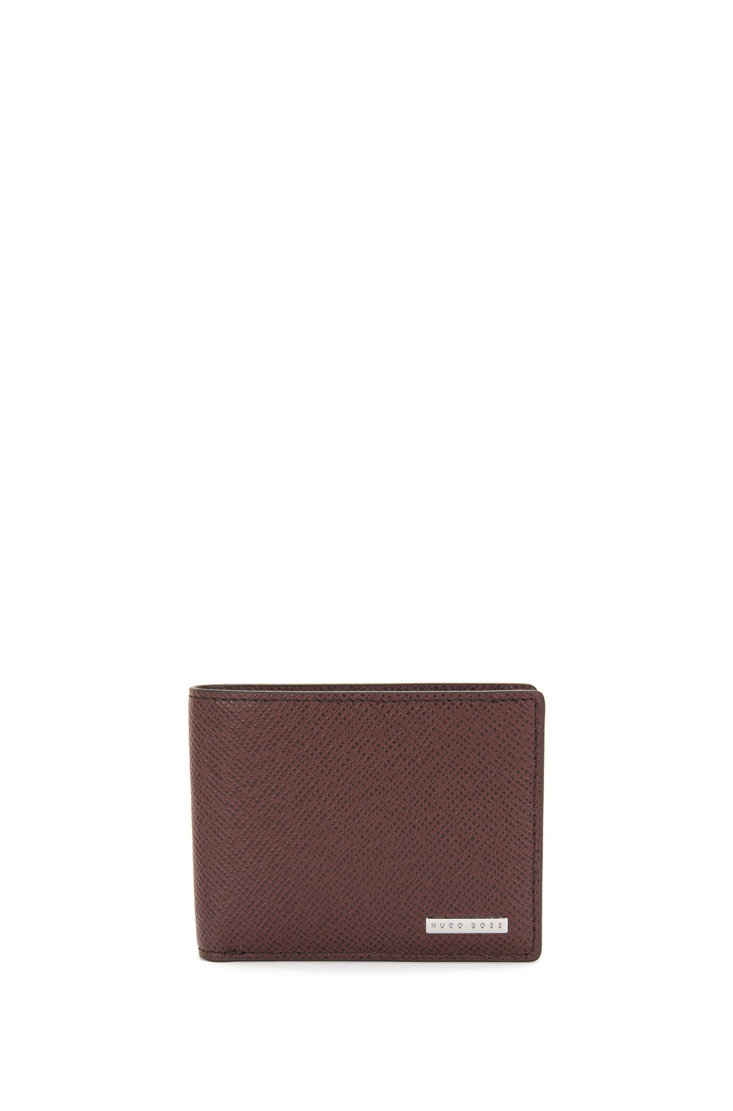 'Signature CC' | Calfskin Textured Wallet