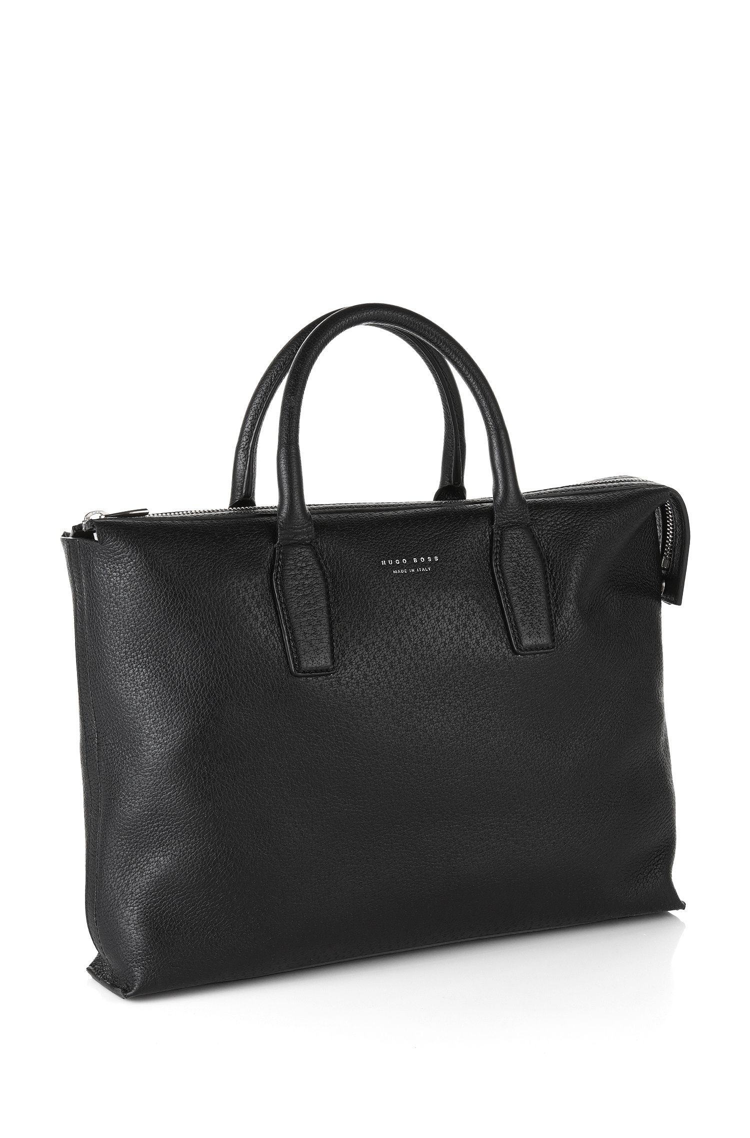 'S Pecary_S' | Leather Peccary Embossed Workbag