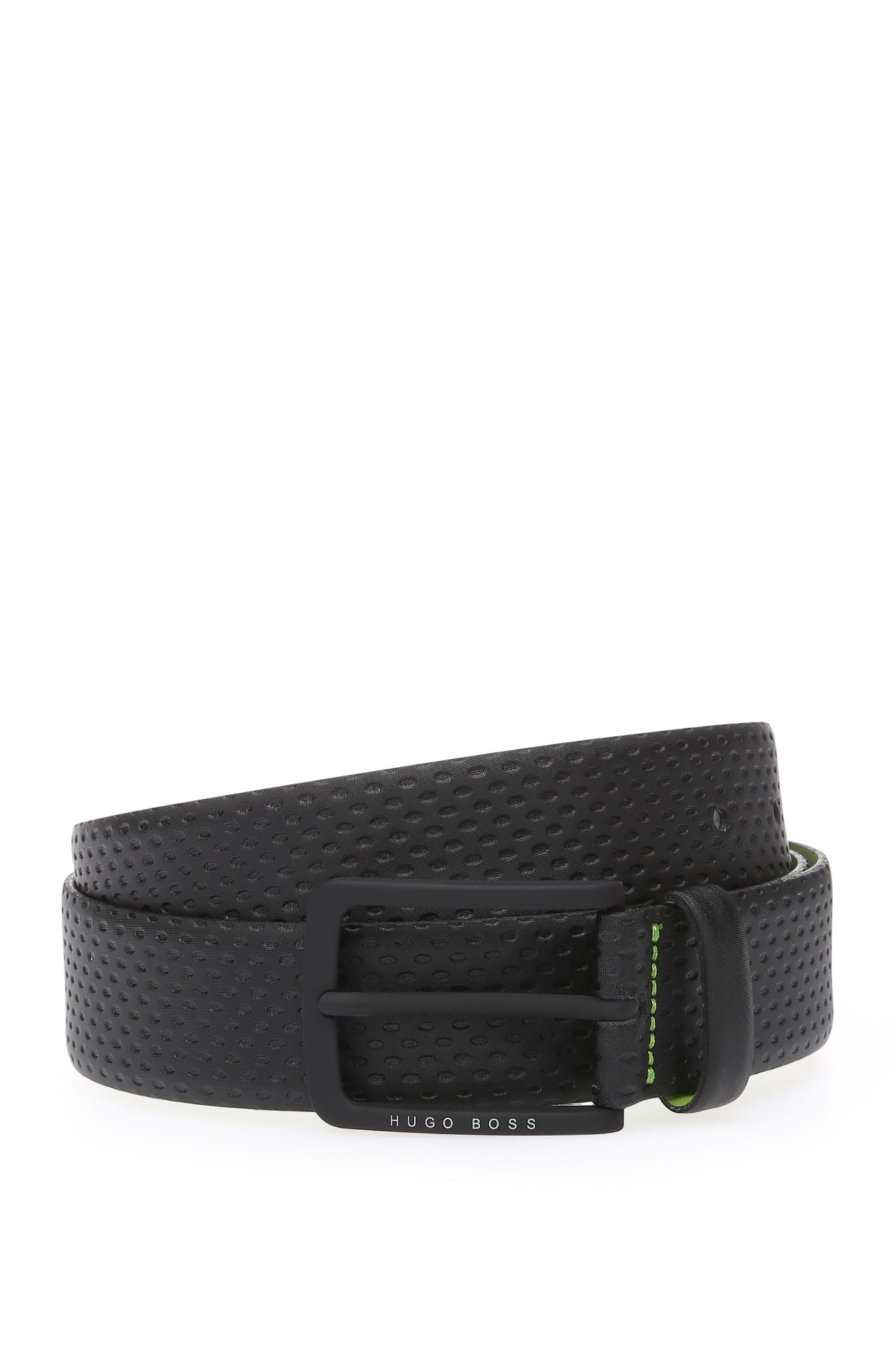 'Tomin' | Leather Textured Belt