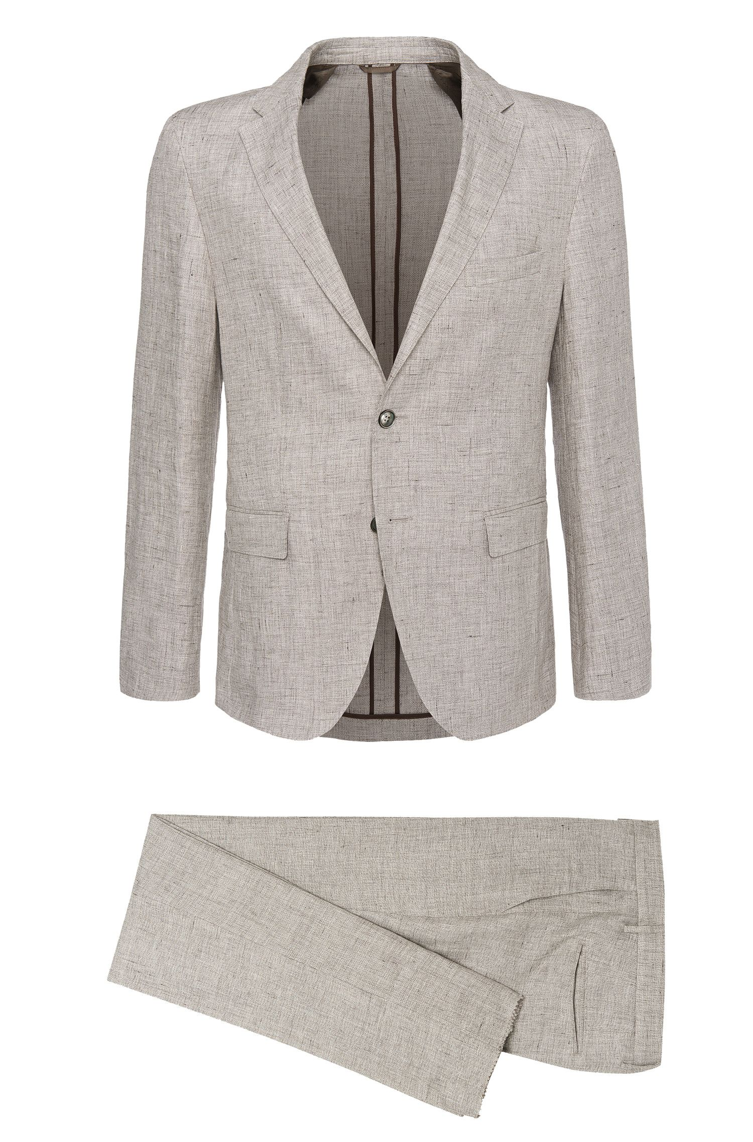 'T-Norten/Bexter' | Slim Fit, Italian Linen Suit