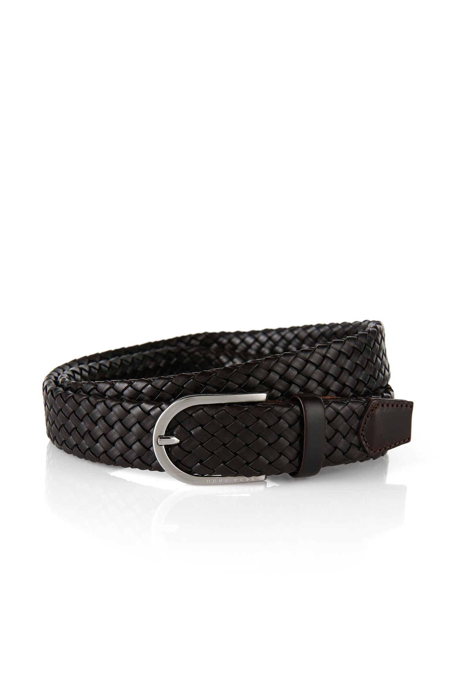 'Naliton'   Leather Braided Belt