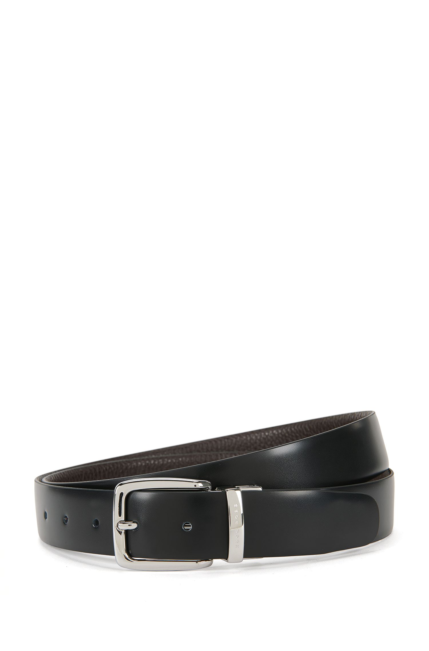 'Omartin' | Italian Leather Reversible Belt