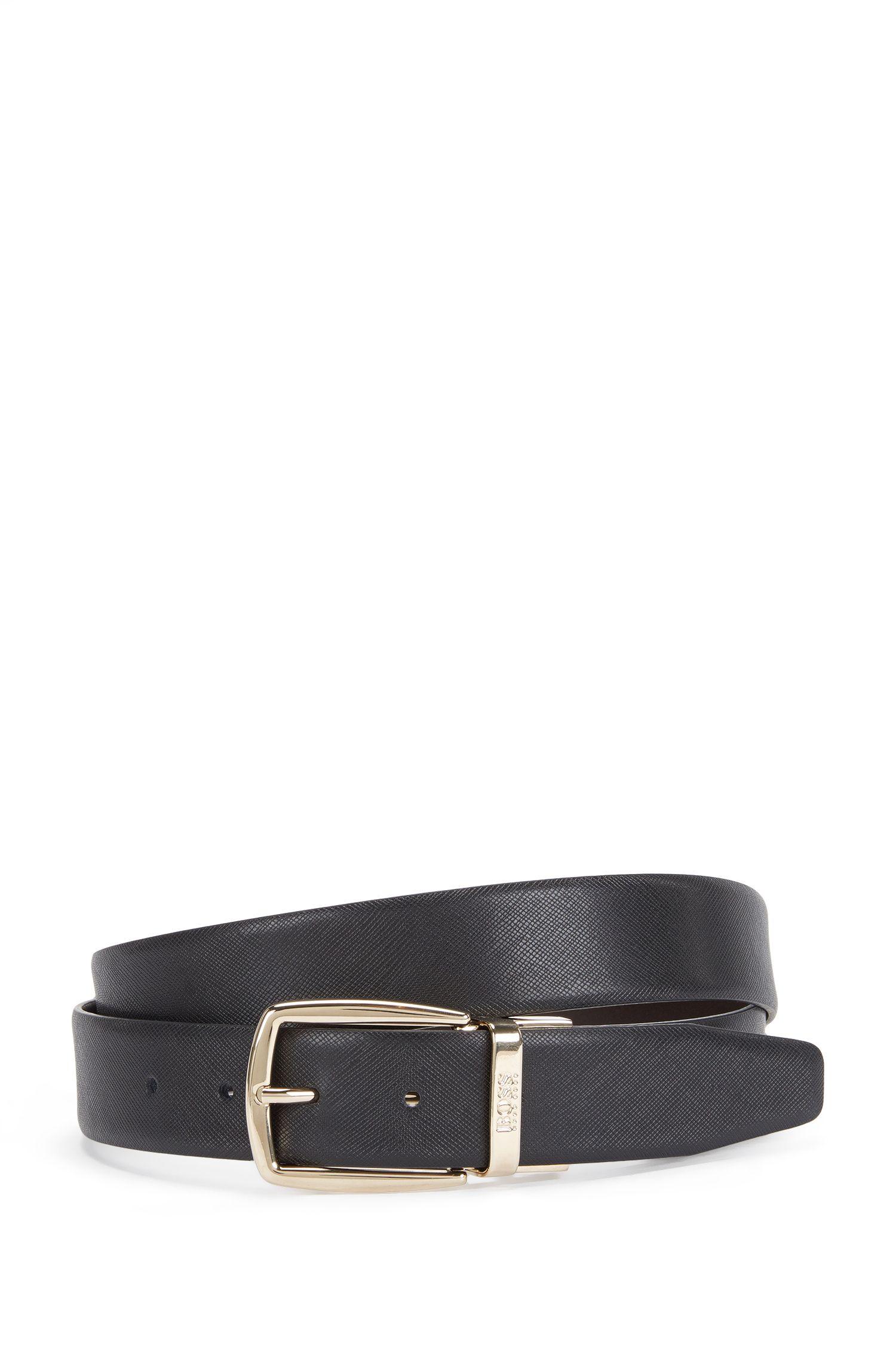 'Otardos-CN' | Reversible Italian Leather Belt