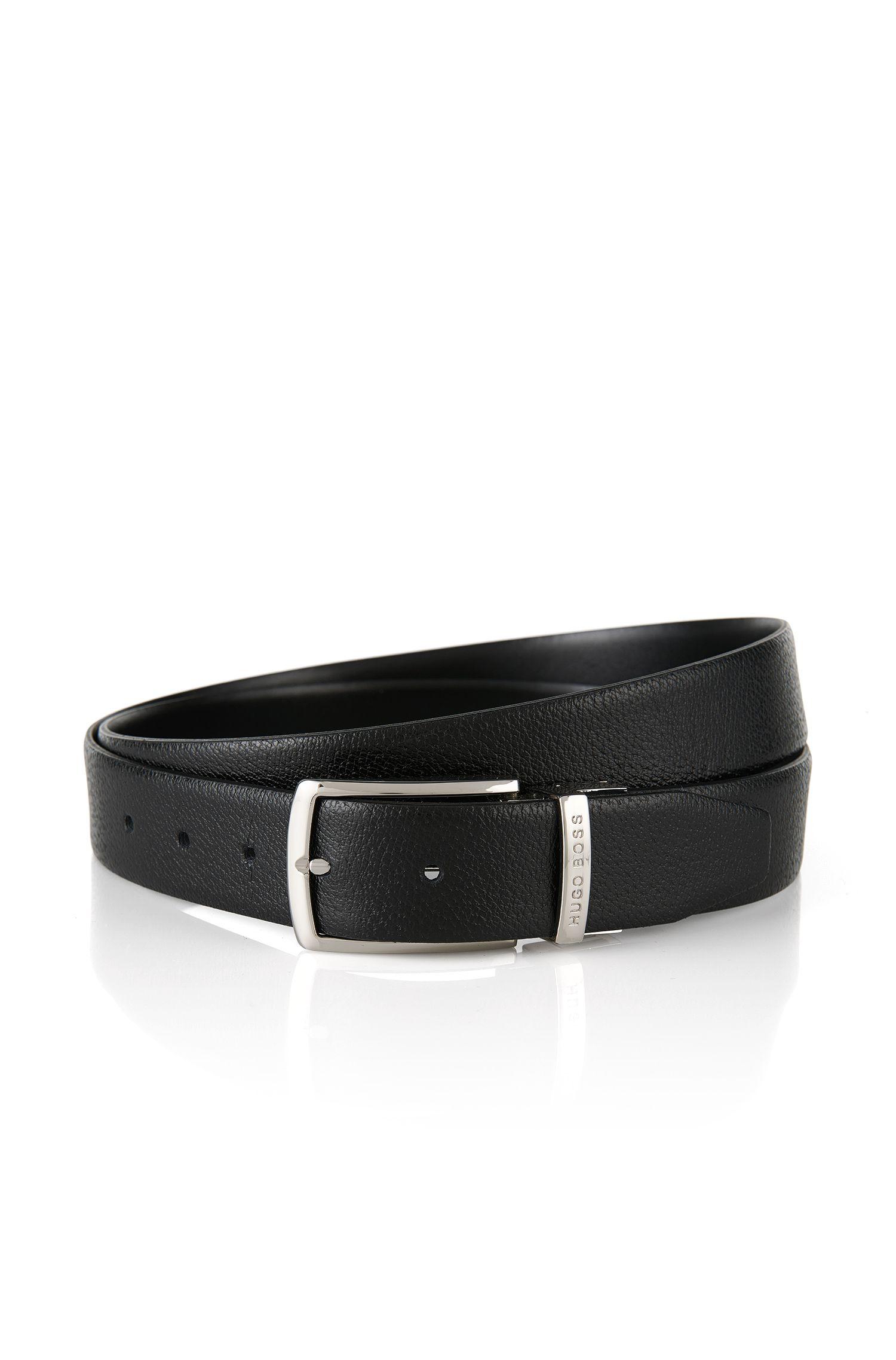 'Ocing-CN' | Italian Leather Reversible Belt