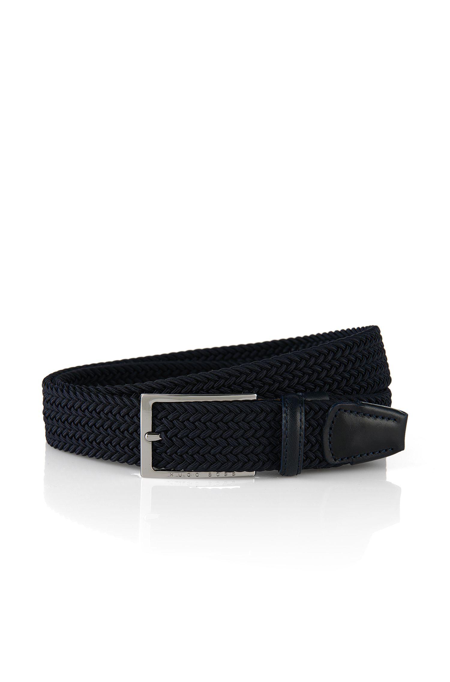 'Clori' | Cotton Blend Leather Braided Belt
