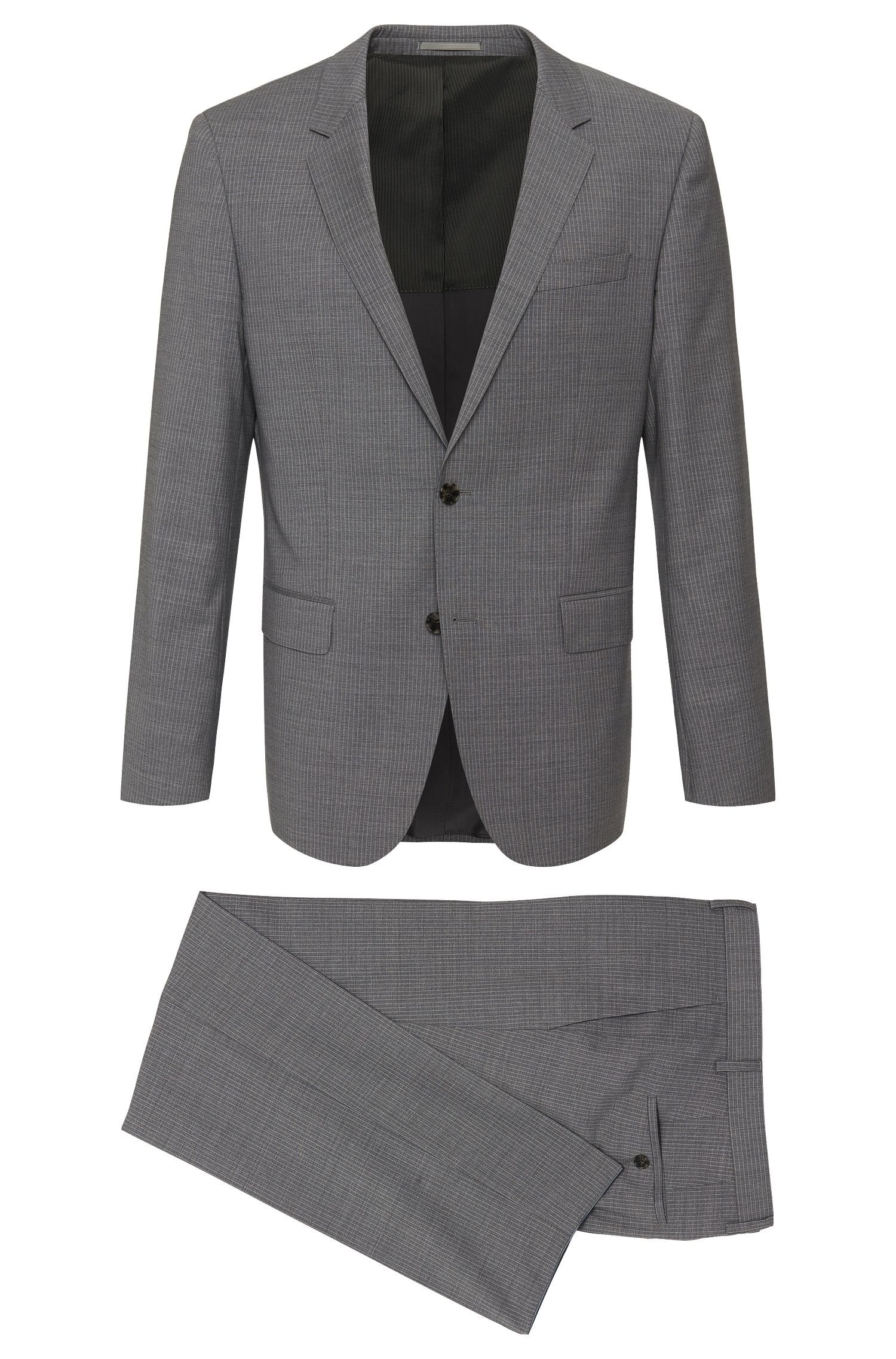 'Huge/Genius' | Slim Fit, Super 120 Italian Virgin Wool Suit