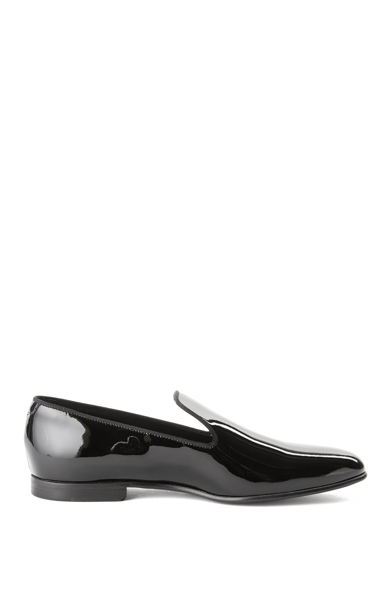 'Loafer-P'   Italian Calfskin Patent Loafers