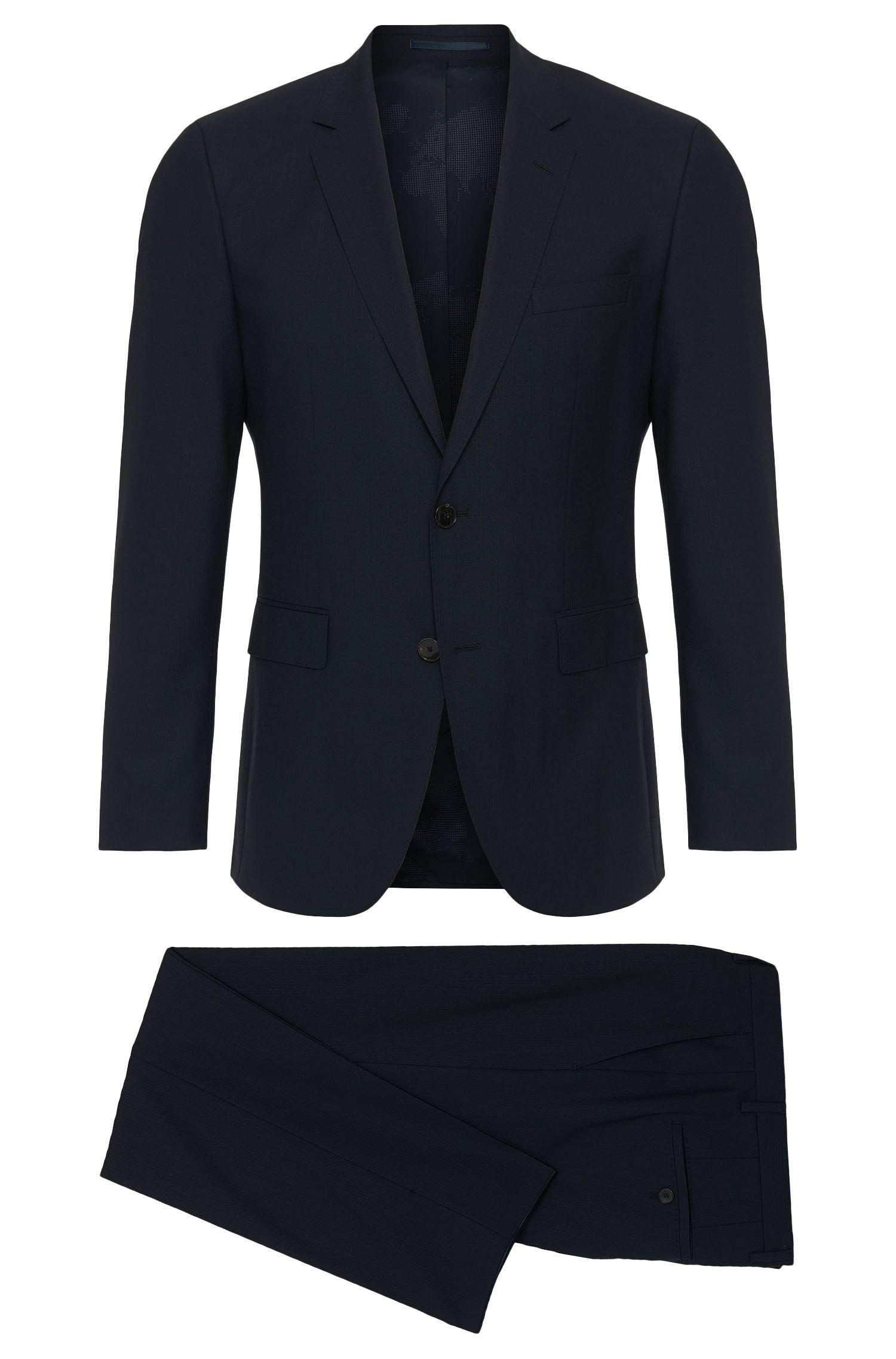 'Jets/Lenon' | Regular Fit, Traveler Super 110 Virgin Wool Suit