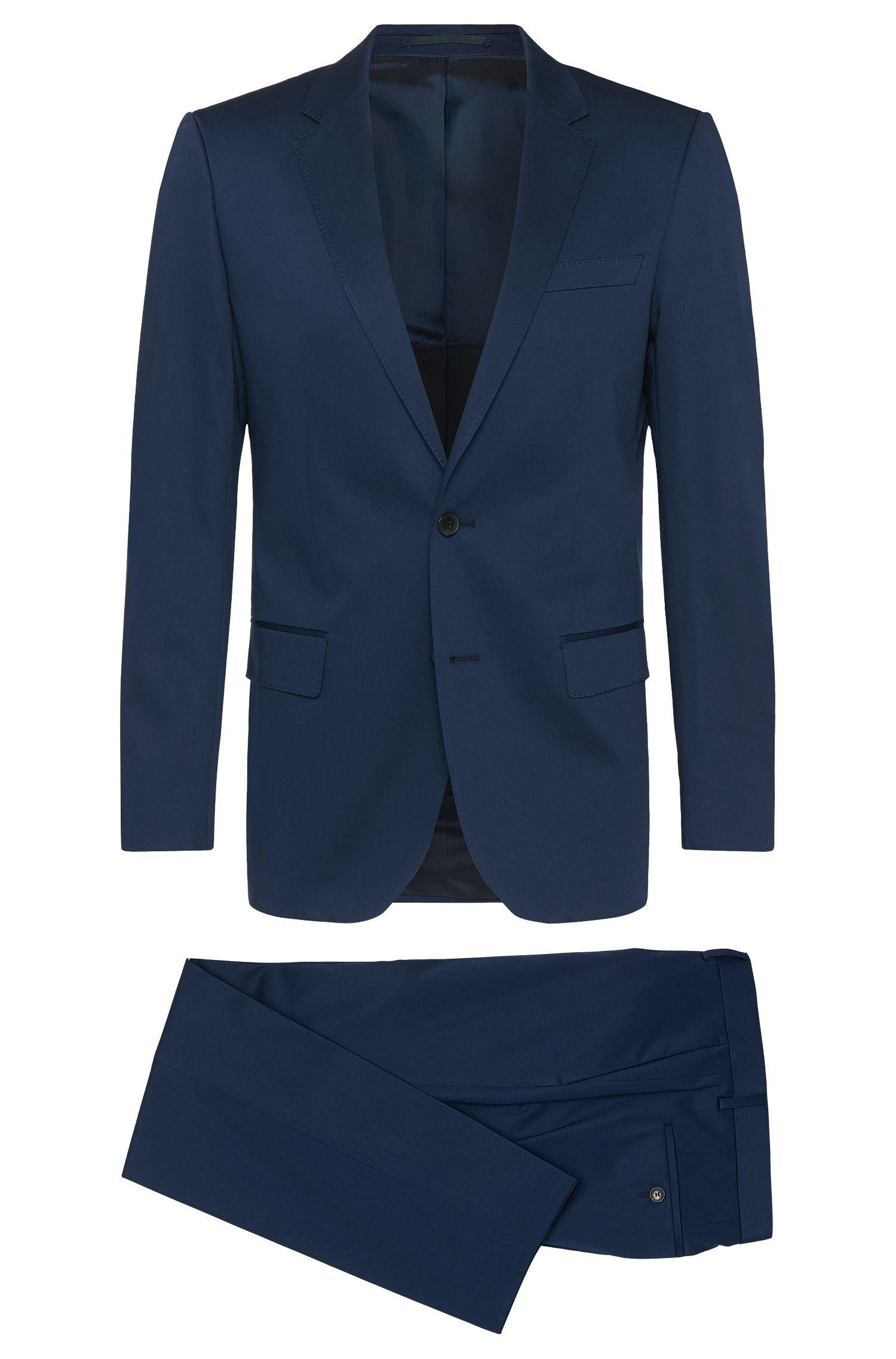 'Huge/Genius' | Slim Fit, Stretch Cotton Suit