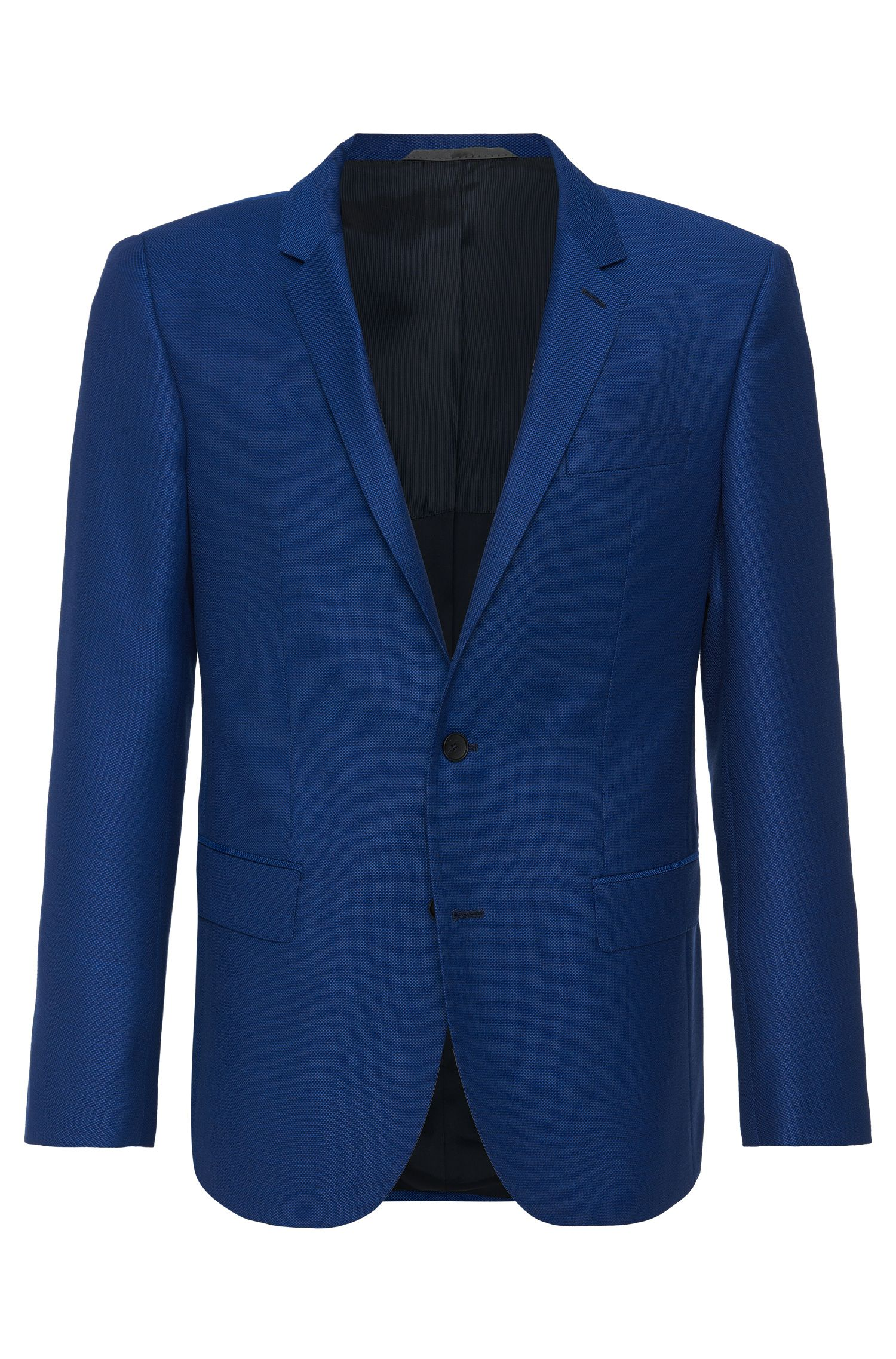 'Hutch' | Slim Fit, Italian Virgin Wool Sport Coat