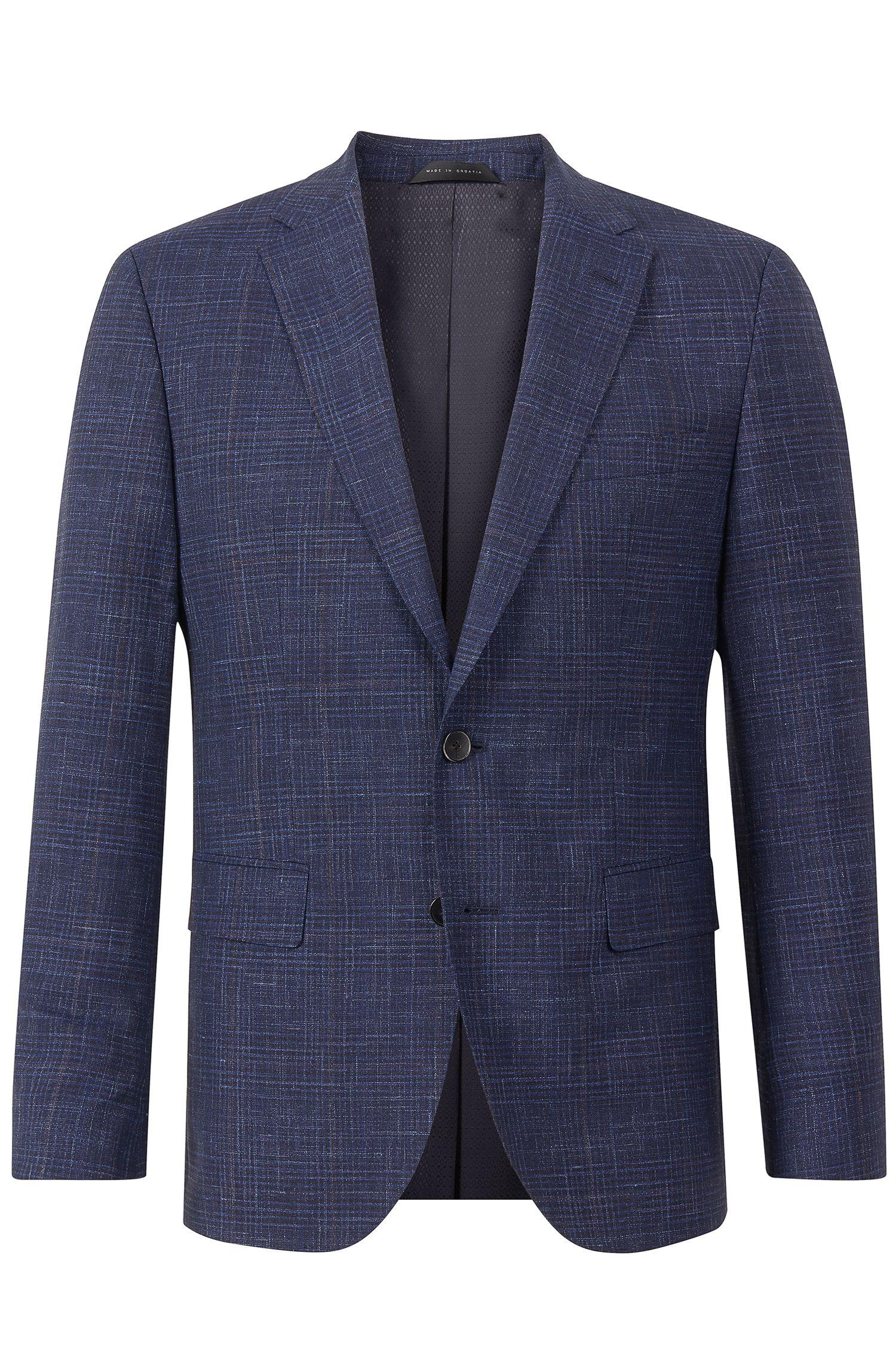 'Jeen' | Regular Fit, Italian Wool Silk Linen Sport Coat